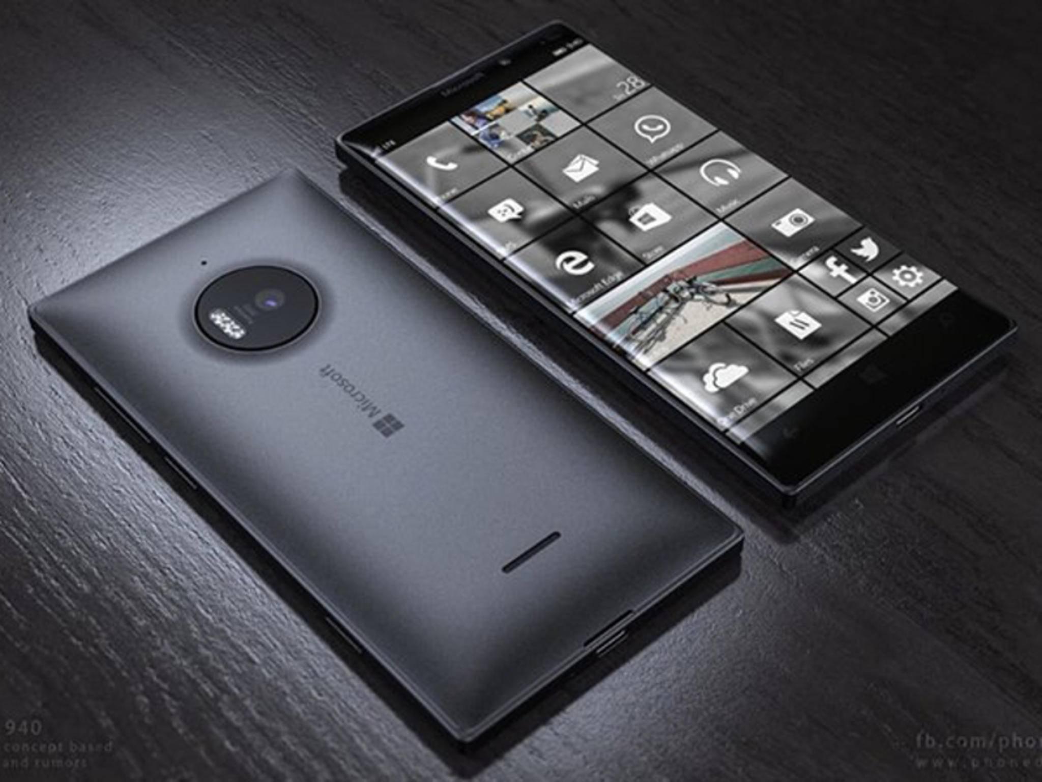 Sieht so das neue Lumia 950 aus? Wenn diese Konzeptstudie richtig liegt, dann ja.