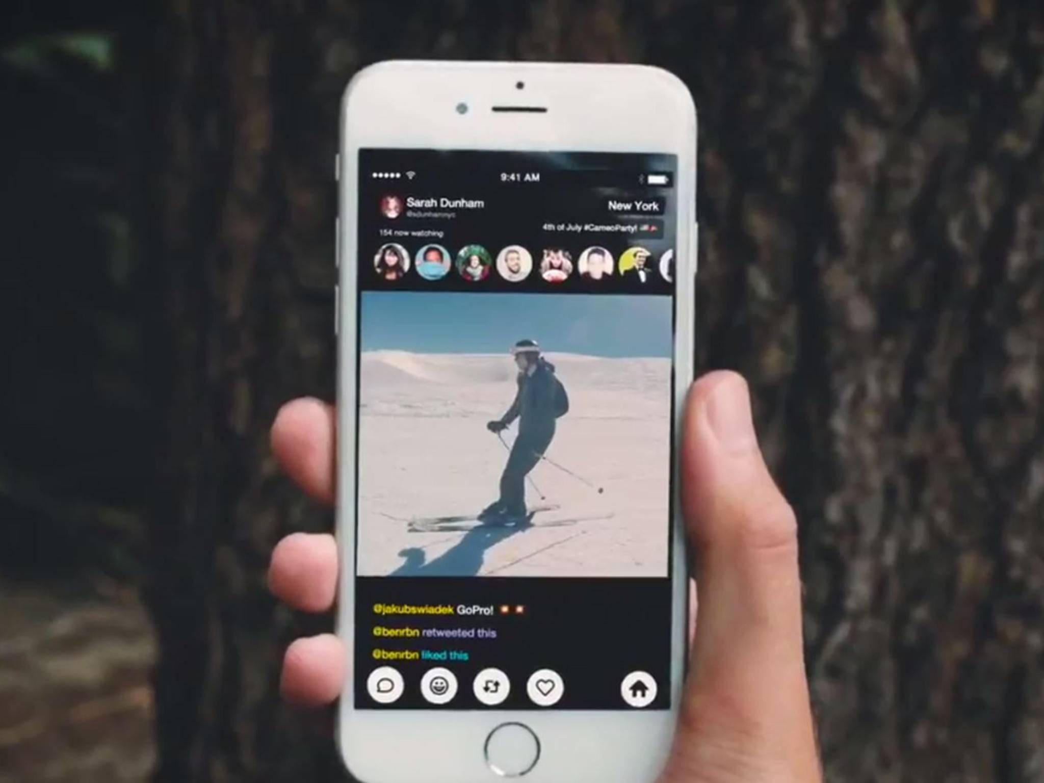 Die Meerkat-App unterstützt nun auch das Streaming von der GoPro.