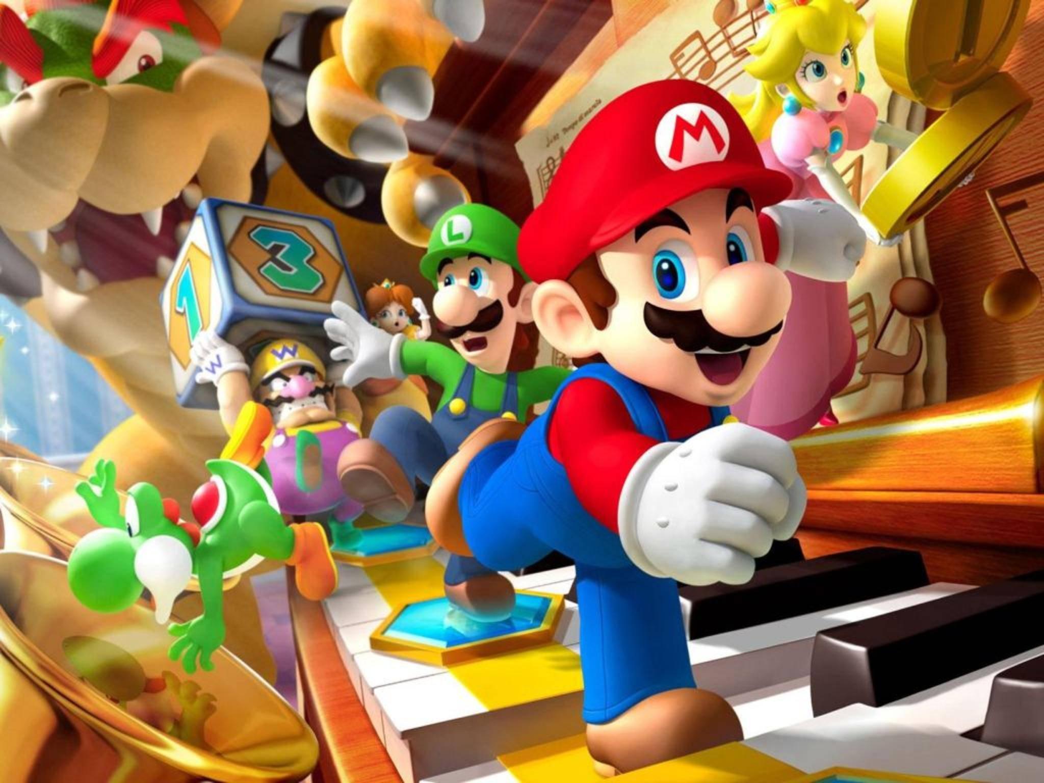 Wird Super Mario schon 2016 sein Debüt auf der Nintendo NX feiern?