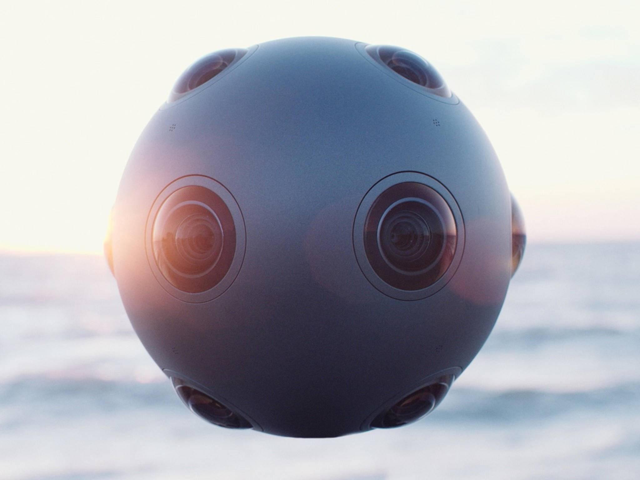 Optisch erinnert die 360 Grad-Kamera eher an einen Fußball.