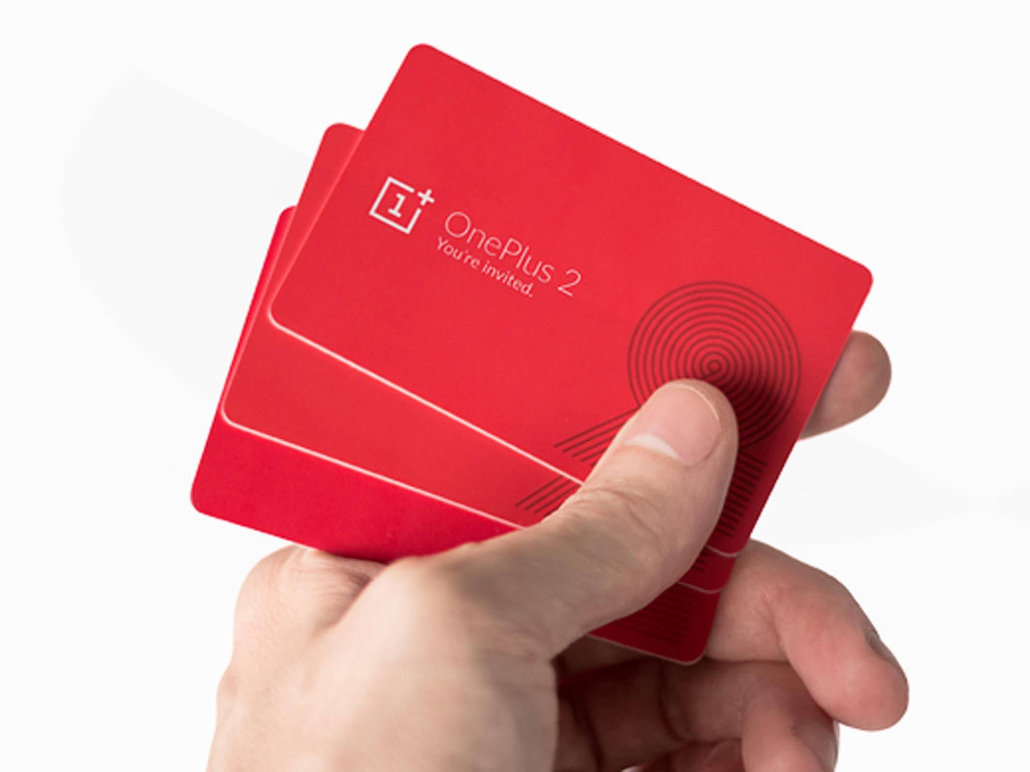 Ohne Einladung geht es auch beim OnePlus 2 nicht.