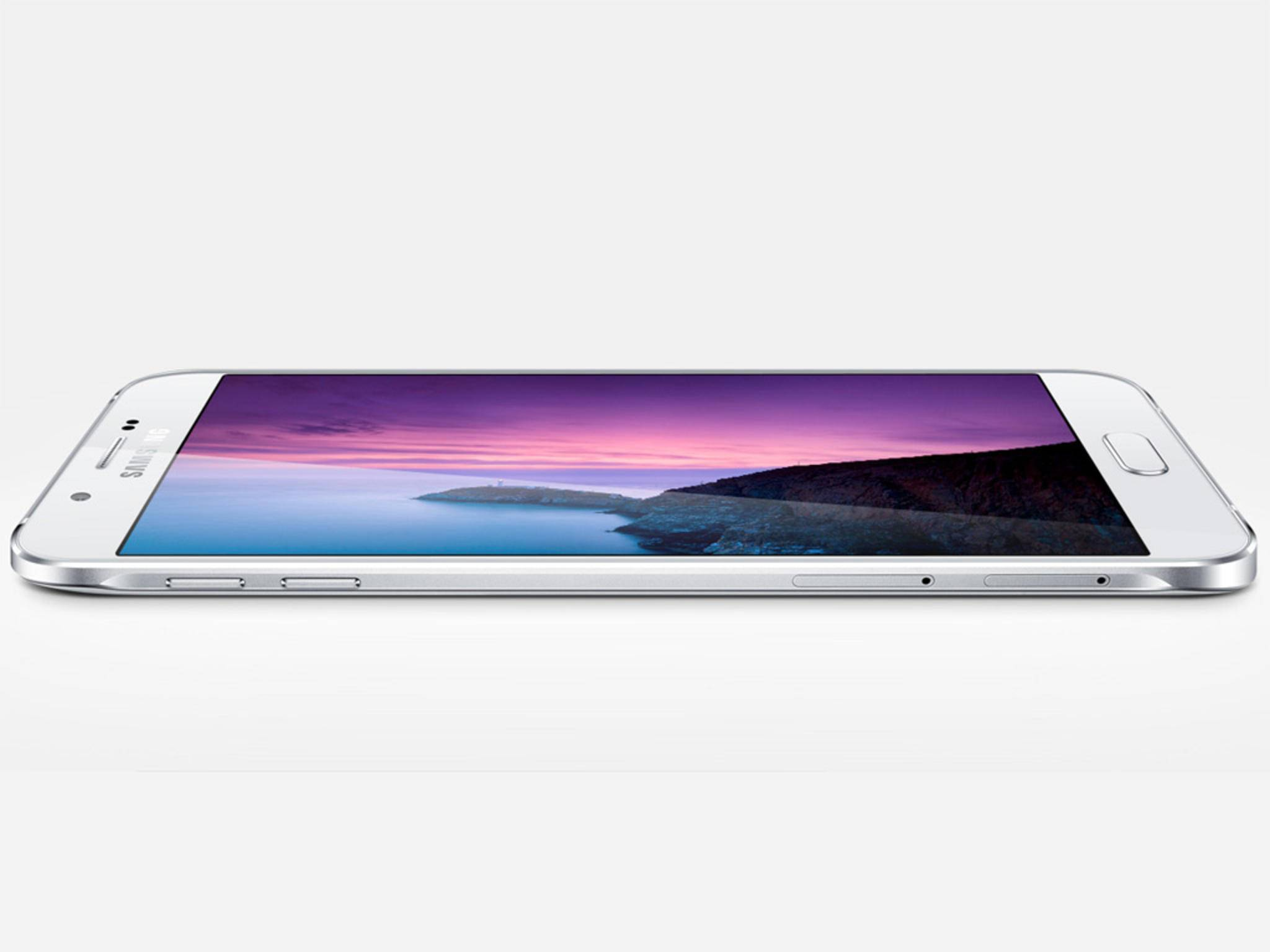 Das Samsung Galaxy A8 hat eine Bautiefe von lediglich 5,9 Millimeter.