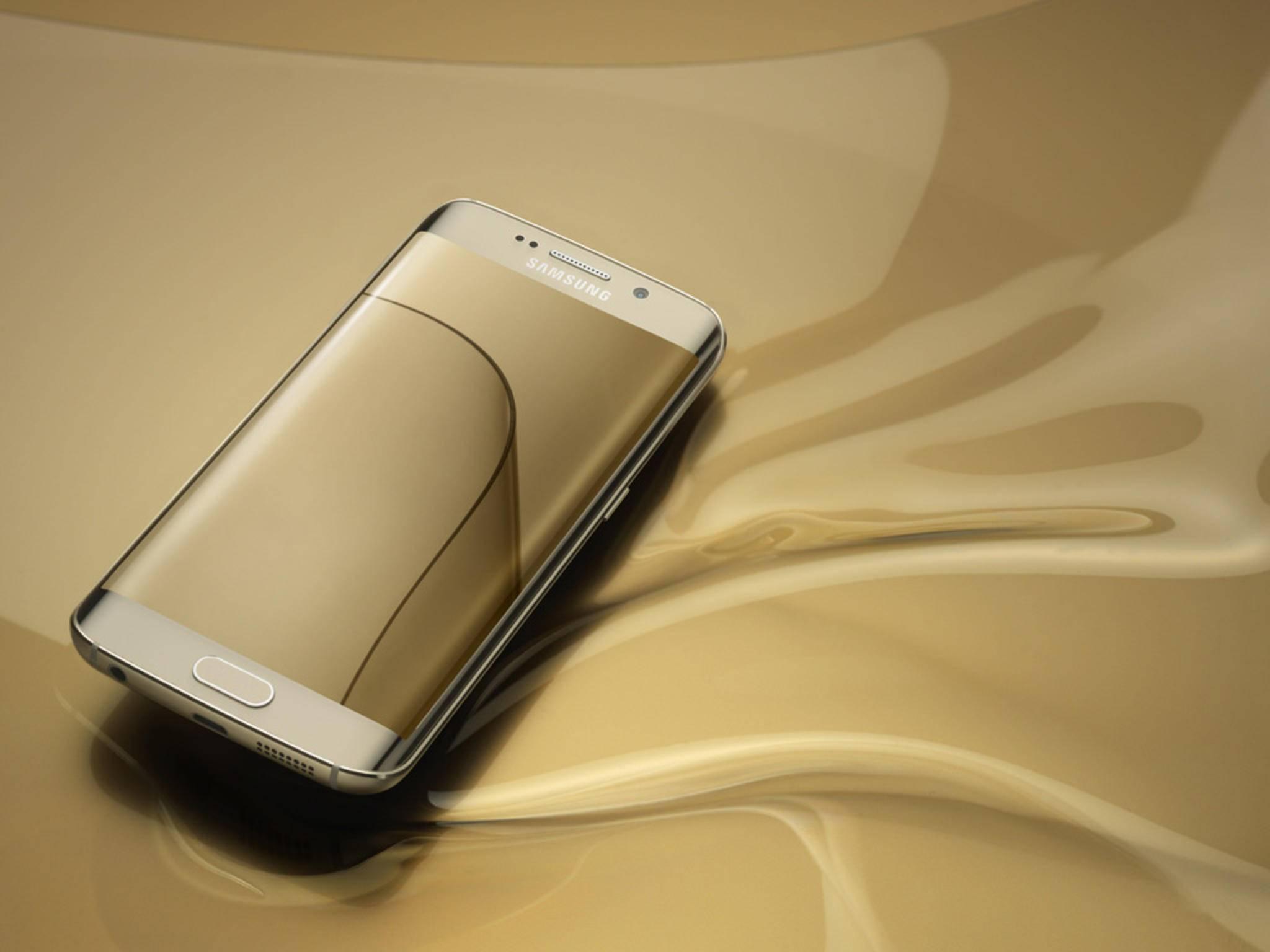Das Galaxy S7 Edge könnte  als eines der ersten Smartphones vom neuen Touchpanel profitieren.