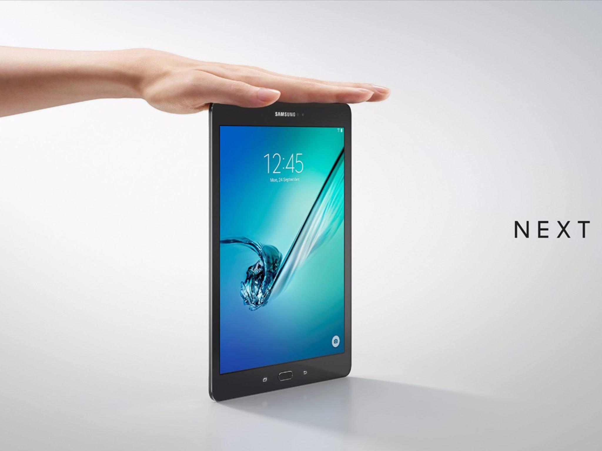 Das Samsung Galaxy Tab S2 wird ab Mitte September in zwei Größen veröffentlicht.