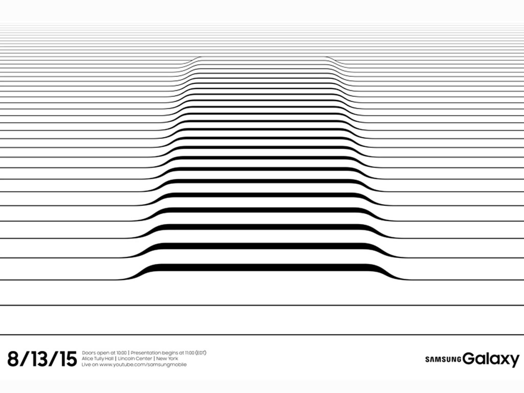 Auf dem Samsung Galaxy Unpacked-Event werden das Galaxy S6 Edge+ & Galaxy Note 5 enthüllt.