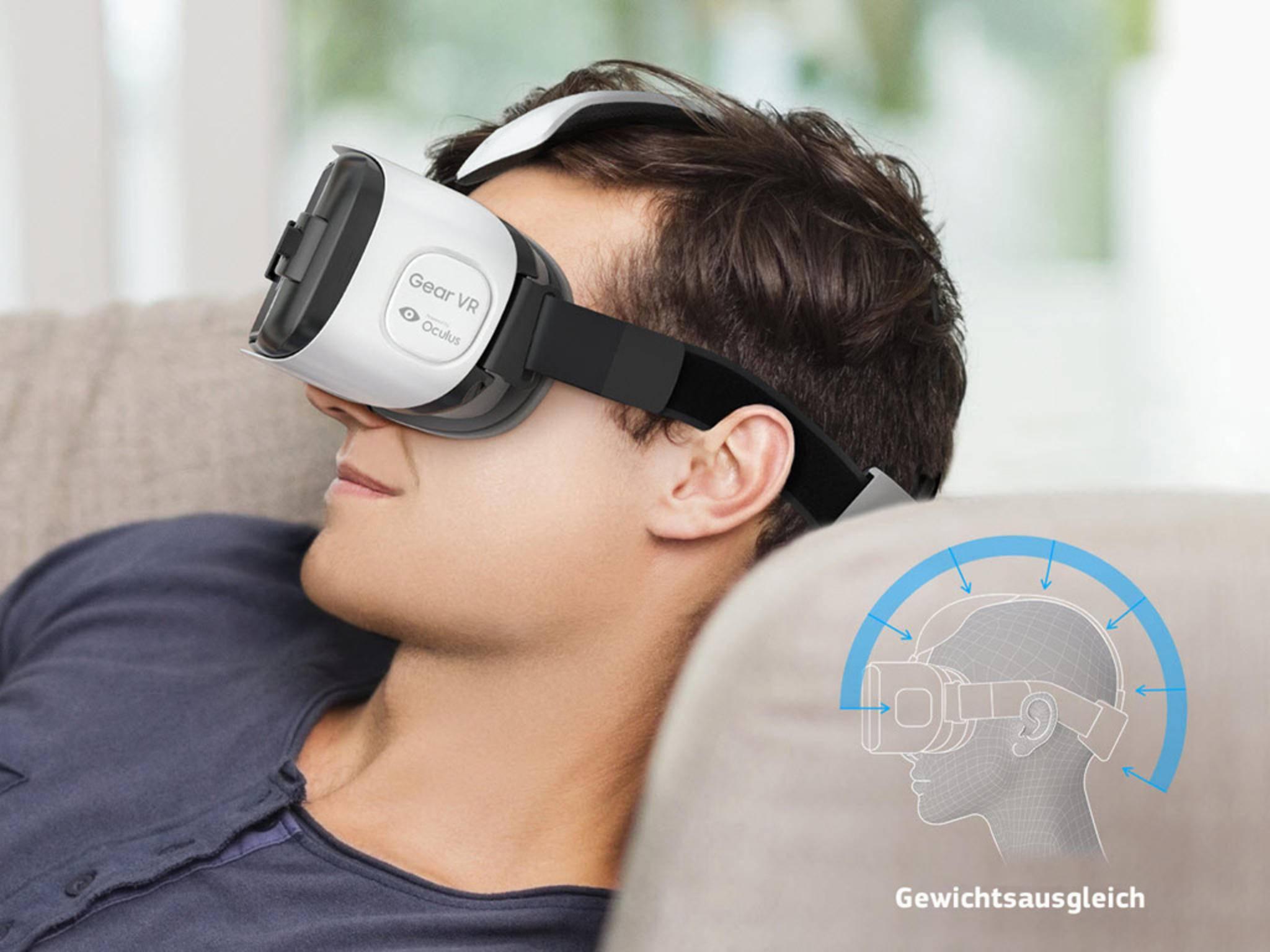 Die Samsung Gear VR ist eine Investition in die Gaming-Zukunft.