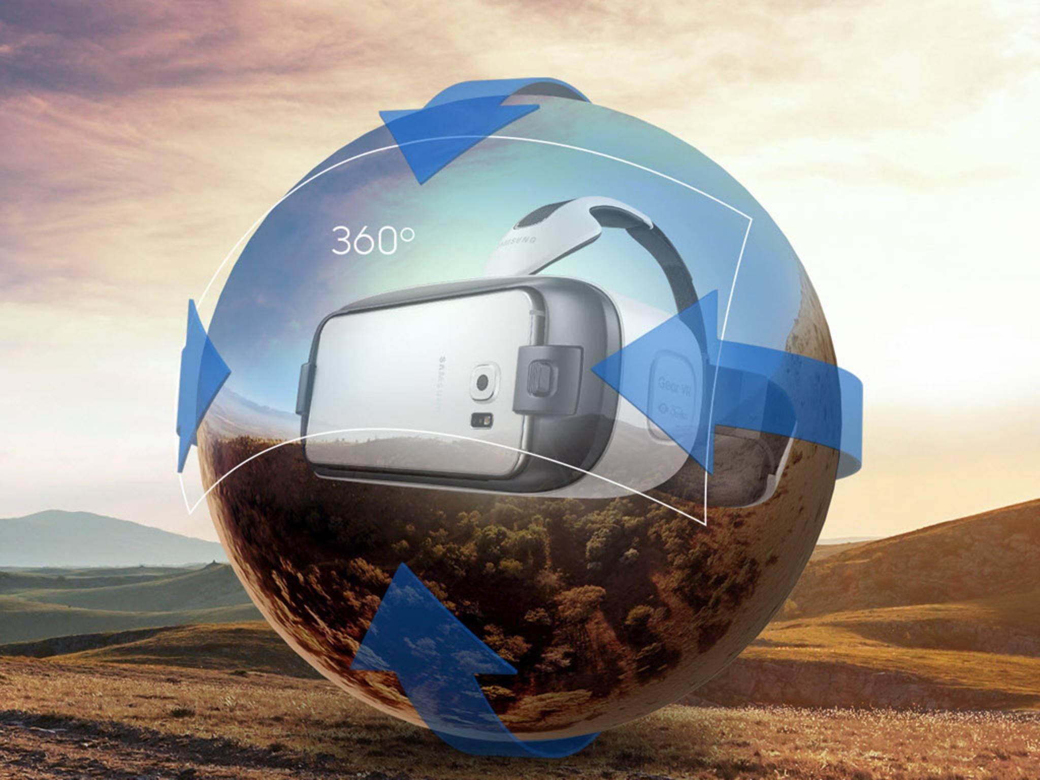 Die Samsung Gear VR verspricht lebensechte Bilder und ein 360-Grad-Seherlebnis.