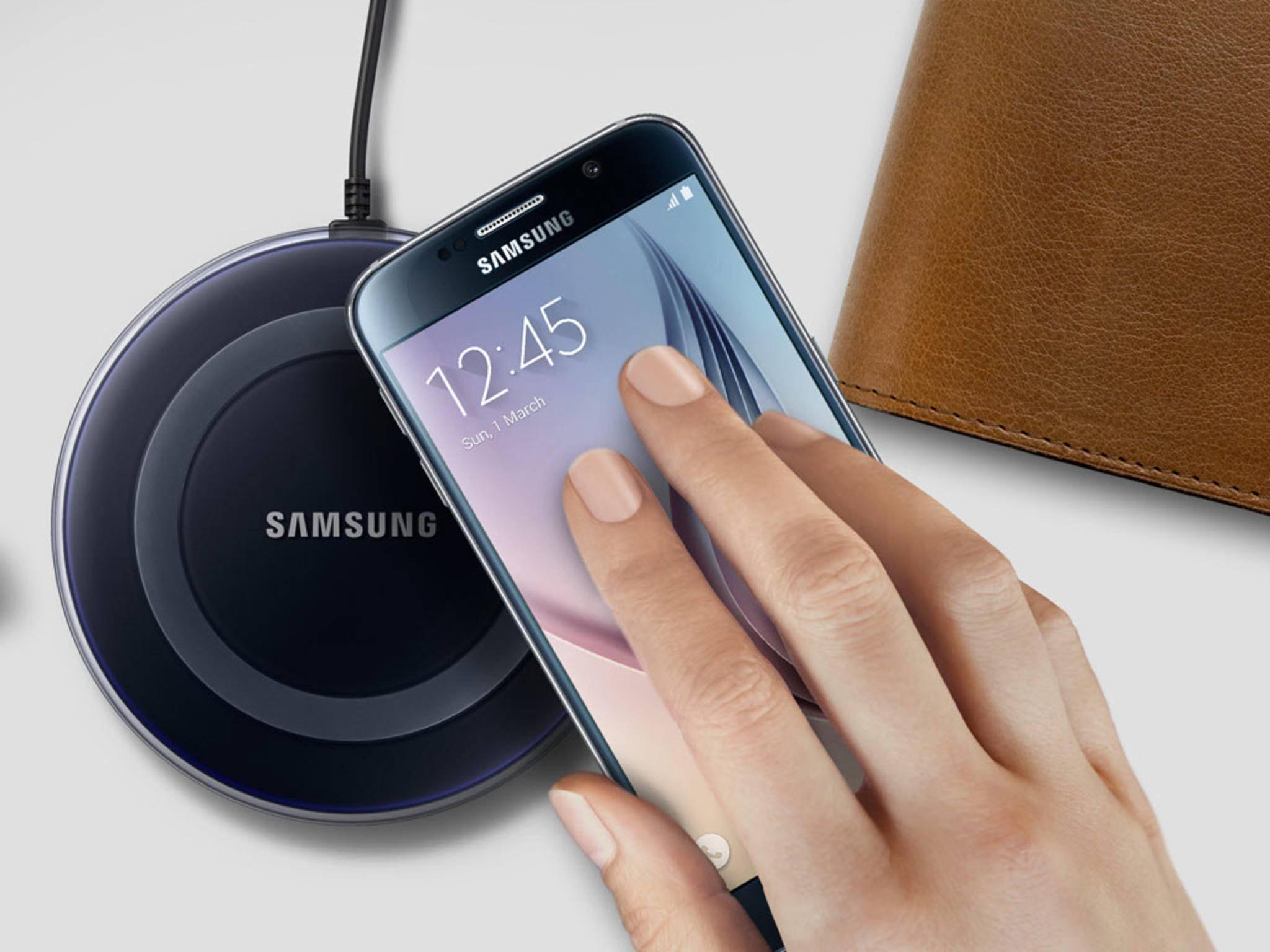 Smartphone-Laden ohne Kabel: Samsung machts möglich.