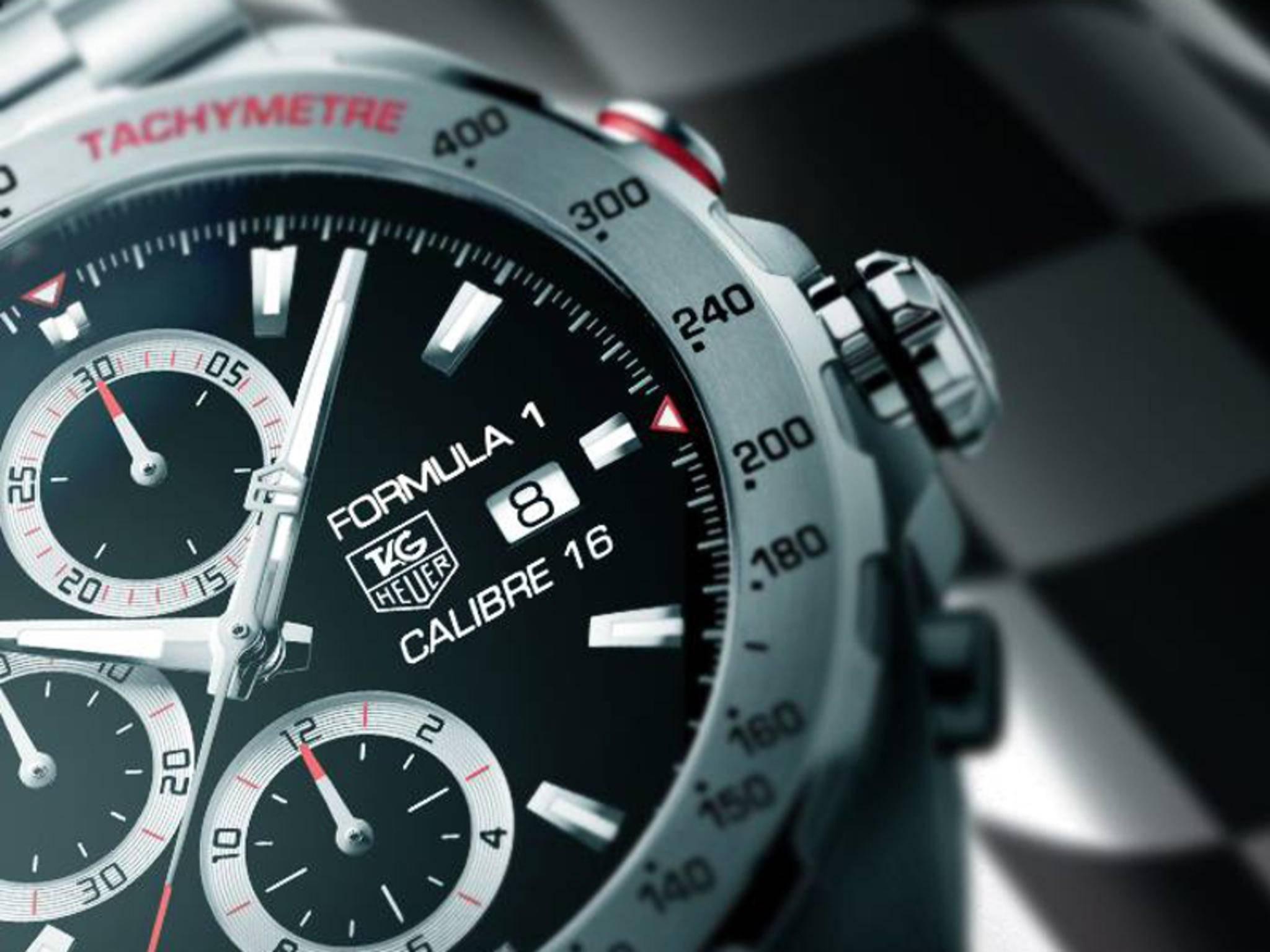Noch ist nicht bekannt, wie die Smartwatch von TAG Heuer aussehen wird.