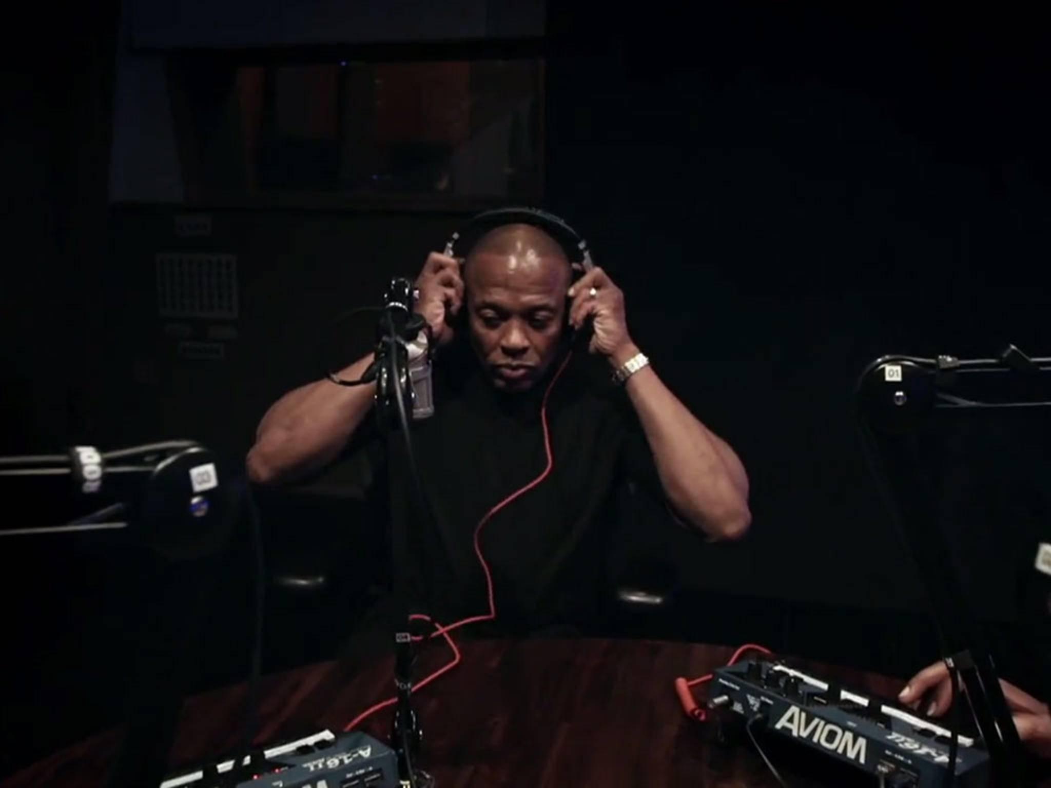 Dr. Dre startet seine wöchentliche Radio-Show auf Beats 1 bei Apple Music.