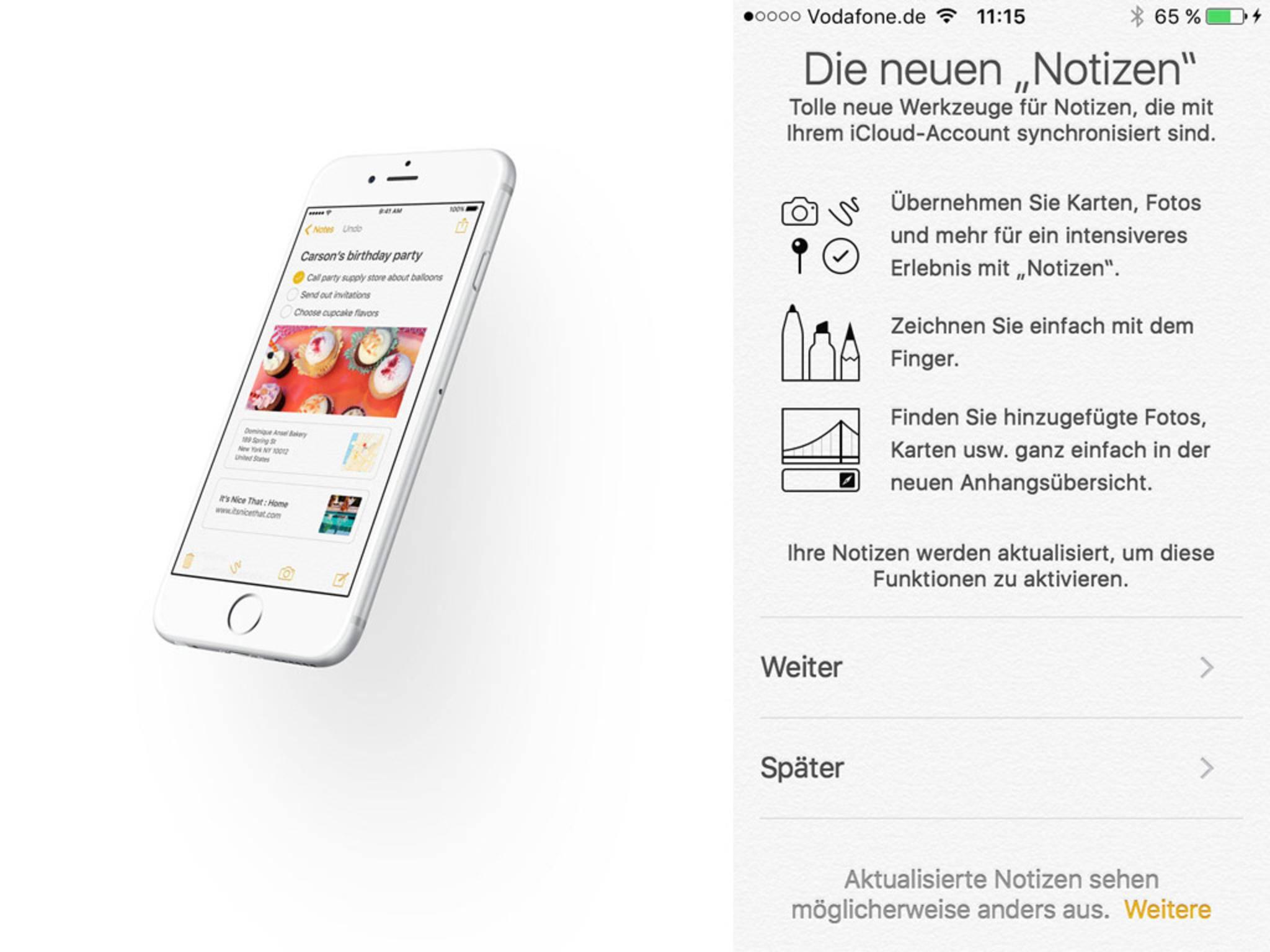 iOS 9 Beta Notizen