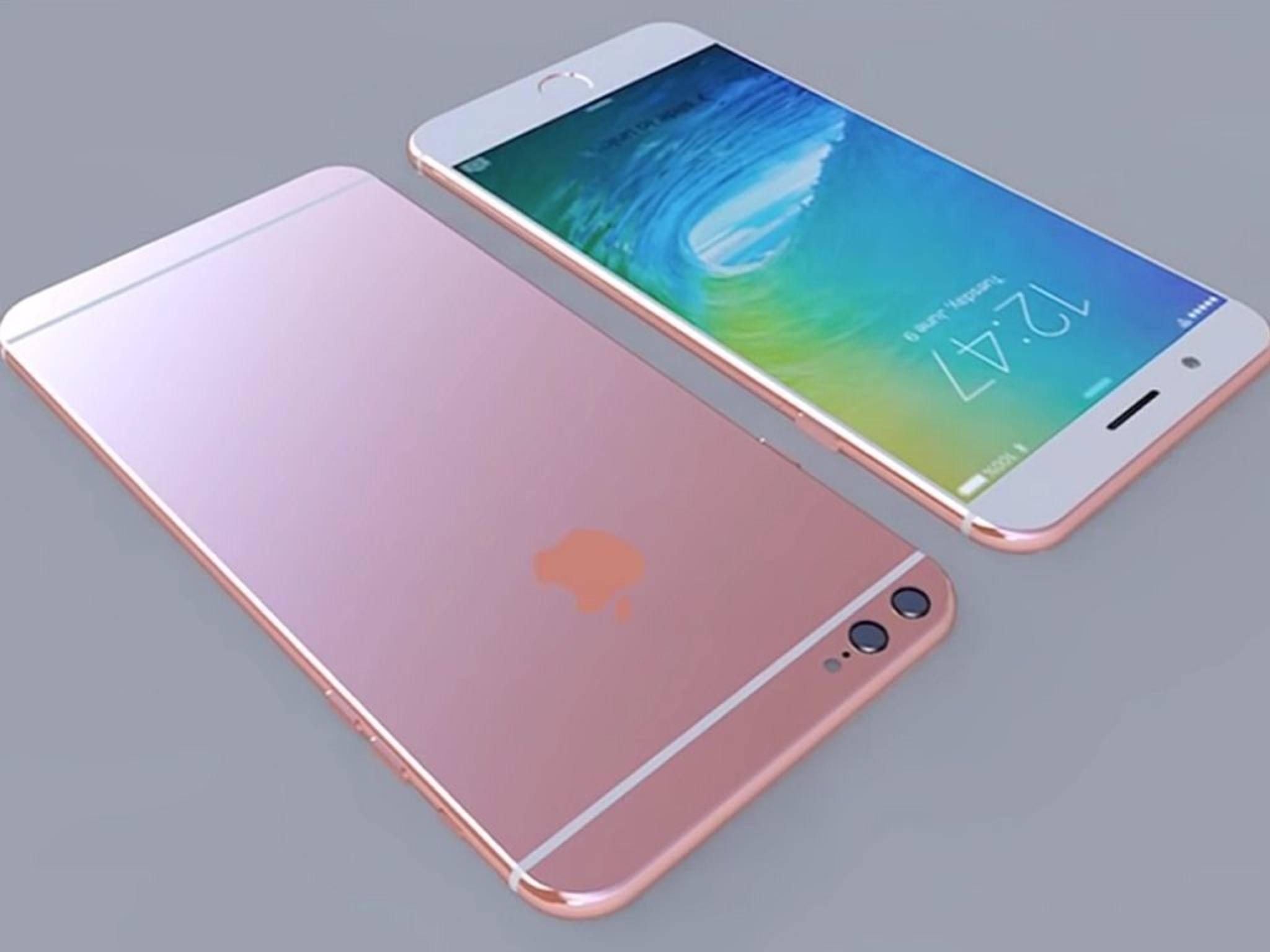 Auch die Optik des iPhone 6s ist noch ein gut gehütetes Geheimnis.