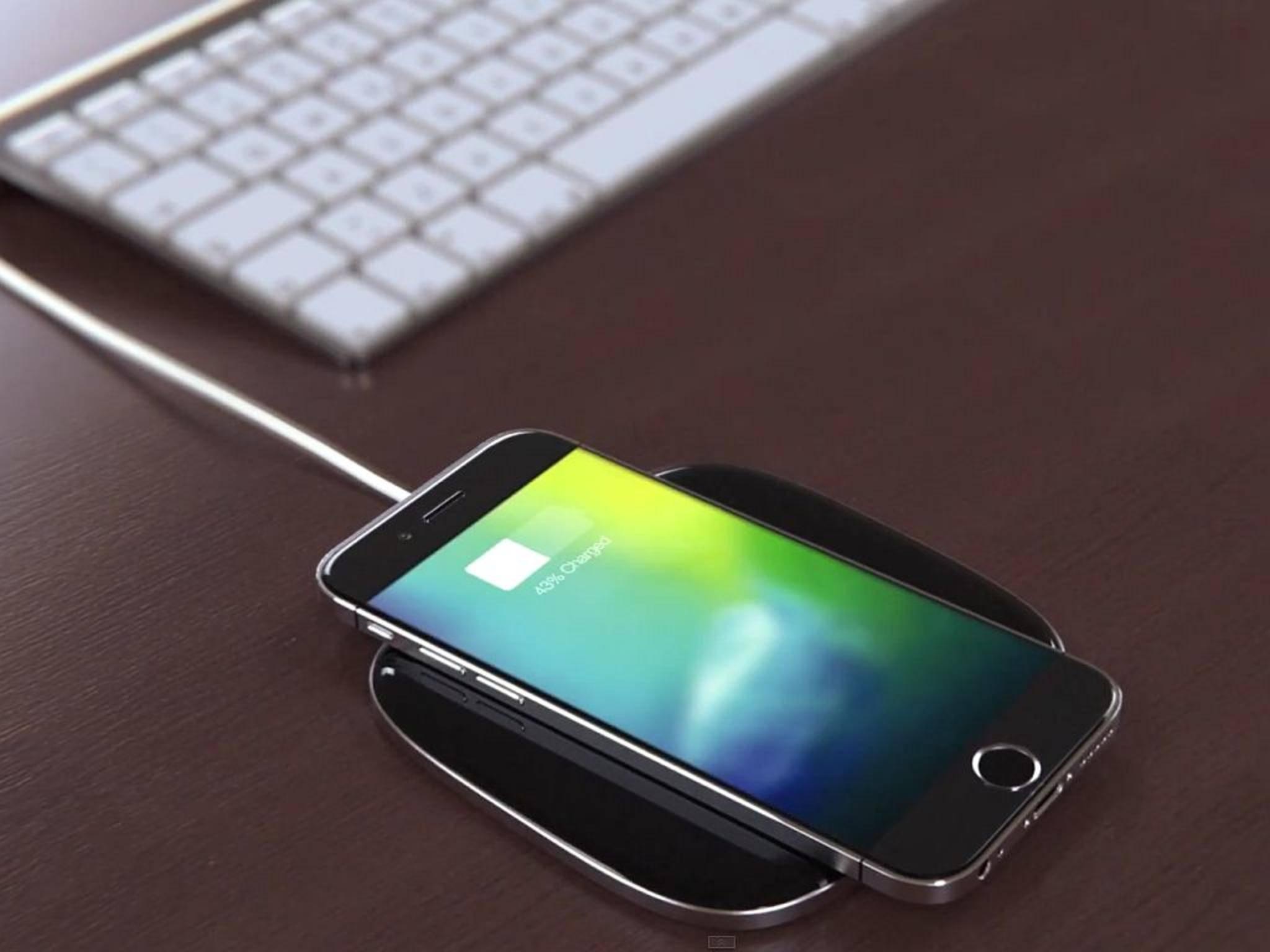 Das iPhone 7 könnte kabellos geladen werden.