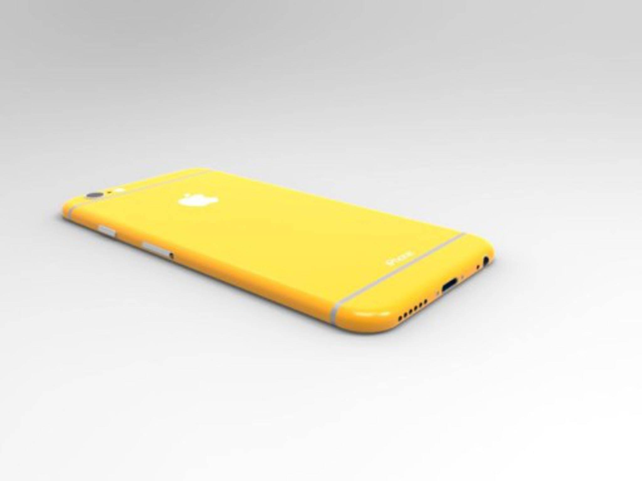 Konzept zum iPhone 6c von Kiarash Kia.