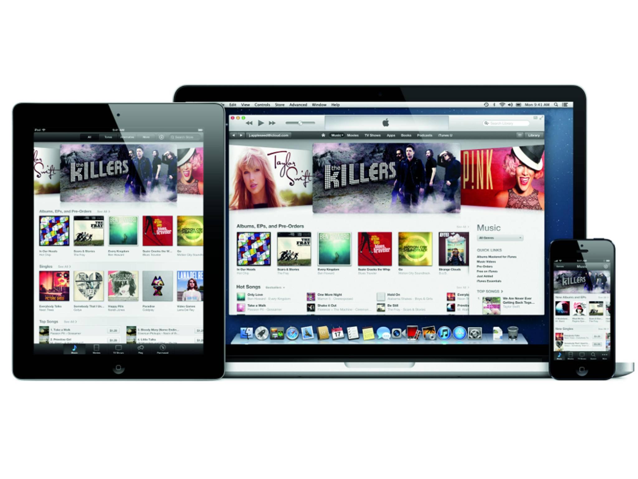Ein Bug in iTunes 12.2 bringt die Musikbibliothek durcheinander.