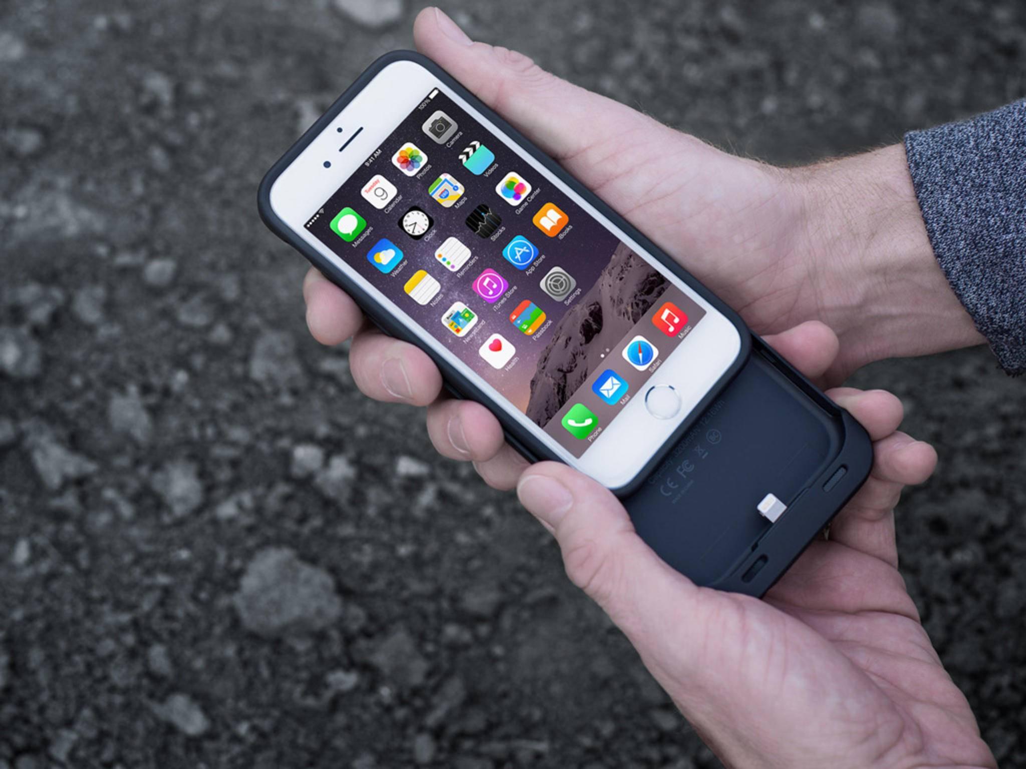 Zusätzliche Akkukapazität: Wir präsentieren 7 praktische Akku-Hüllen für das iPhone 6.