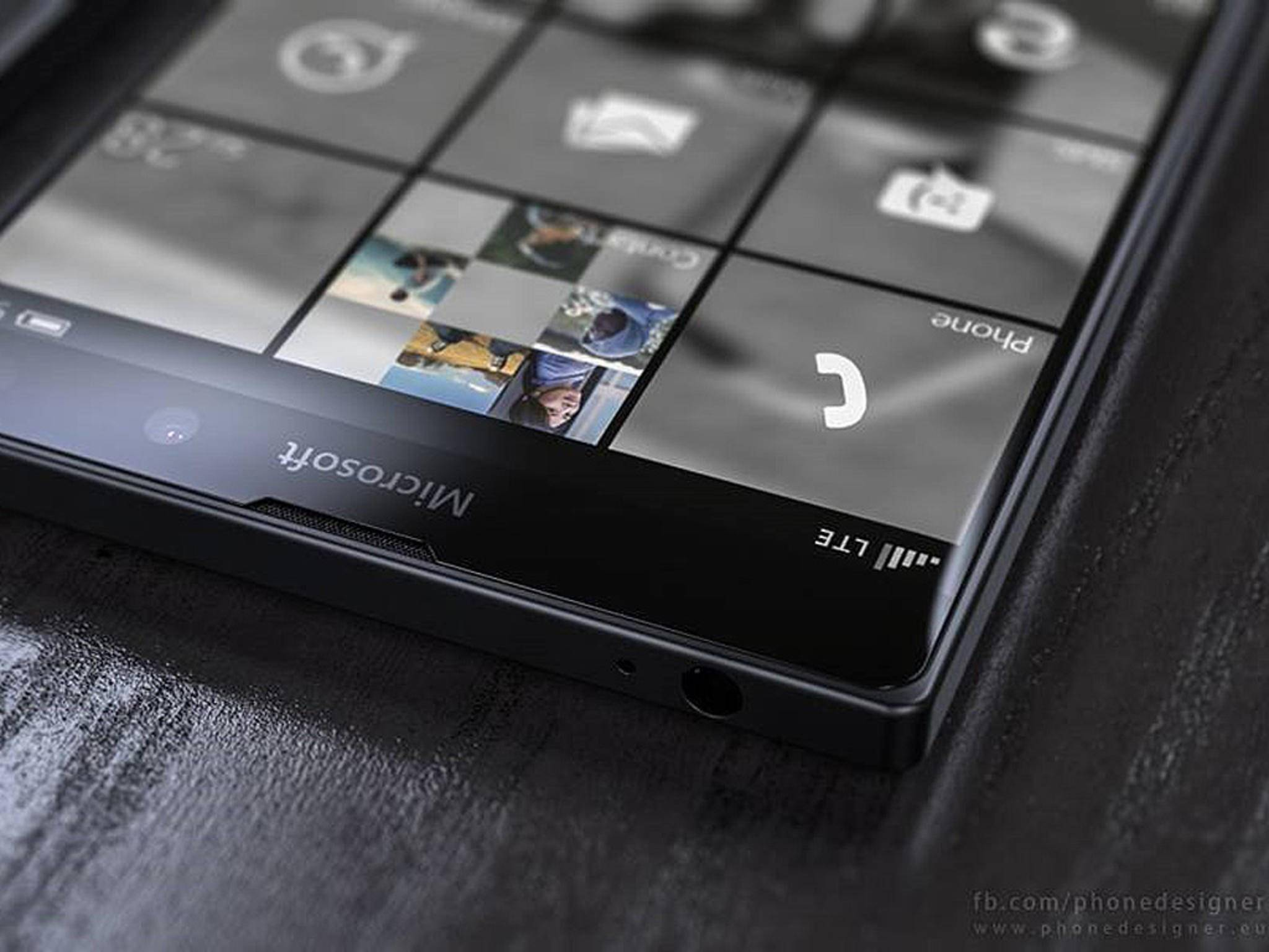 Das Lumia 950 XL soll auch den Stylus des Surface 3 unterstützen.