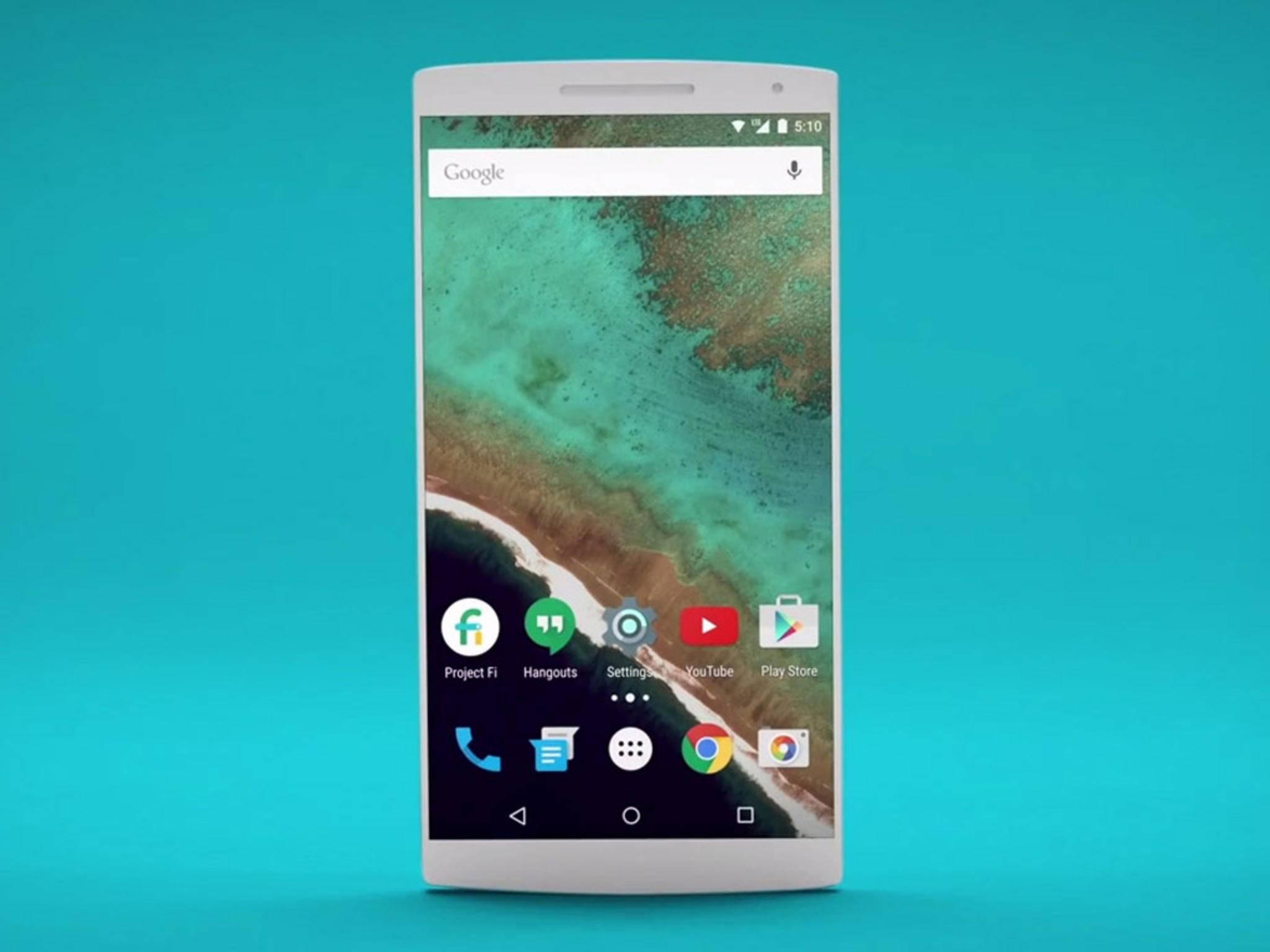 Sieht so etwa das 2015er Modell des neuen Nexus 5 aus? Noch weiß das niemand.