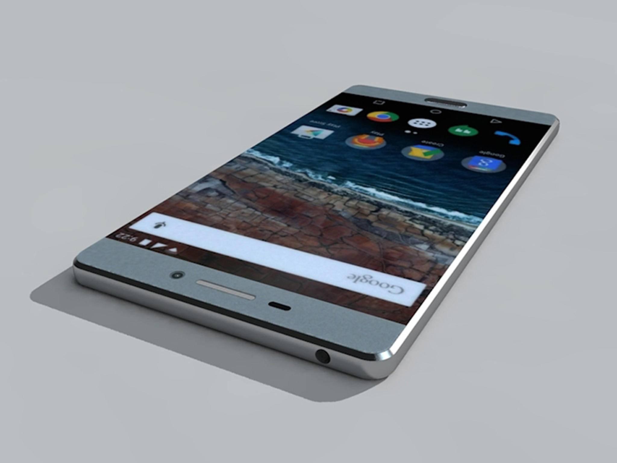 Der Designer Jonas Kvale hat eine Konzeptstudie des neuen Nexus (2015) erstellt, ...