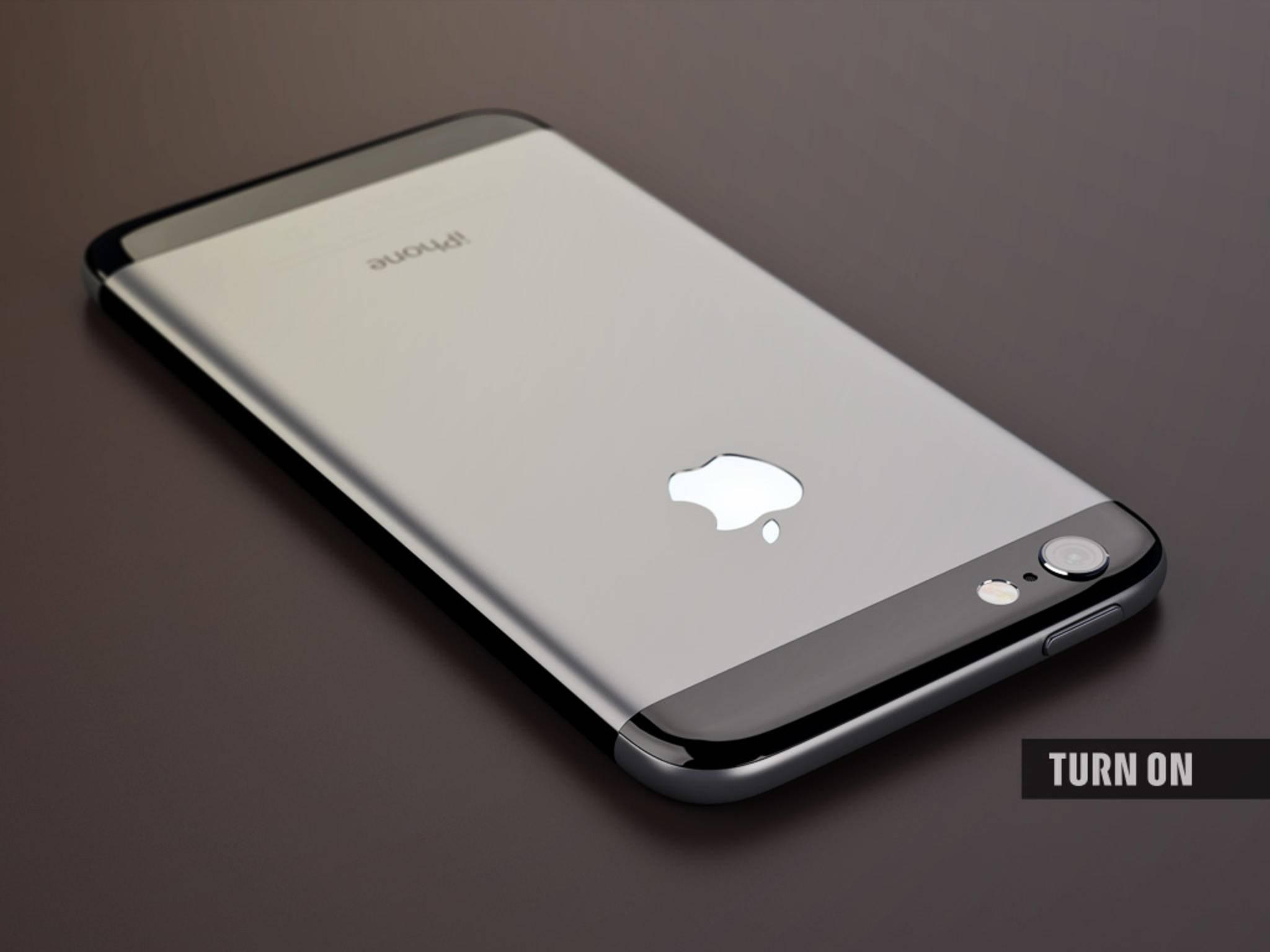 Das Apple-Logo auf der Rückseite könnte auf Wunsch beleuchtet sein.