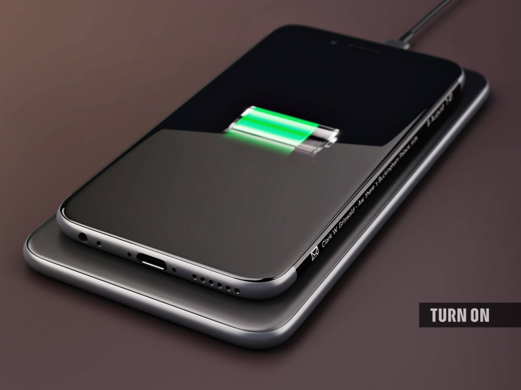 The metal body would allow for wireless charging.