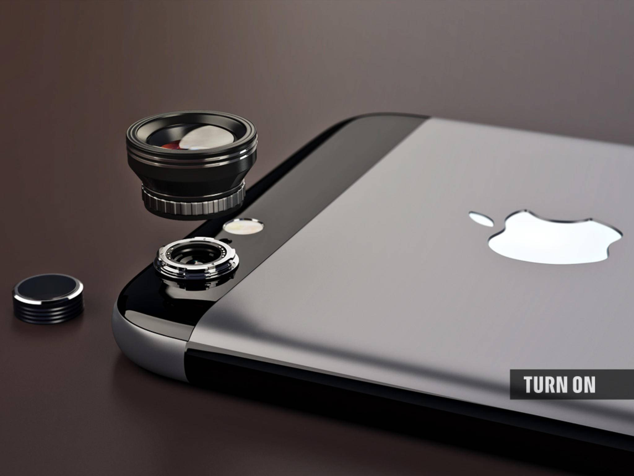 Die Kameralinse unseres des iPhone 7 ist abnehmbar.