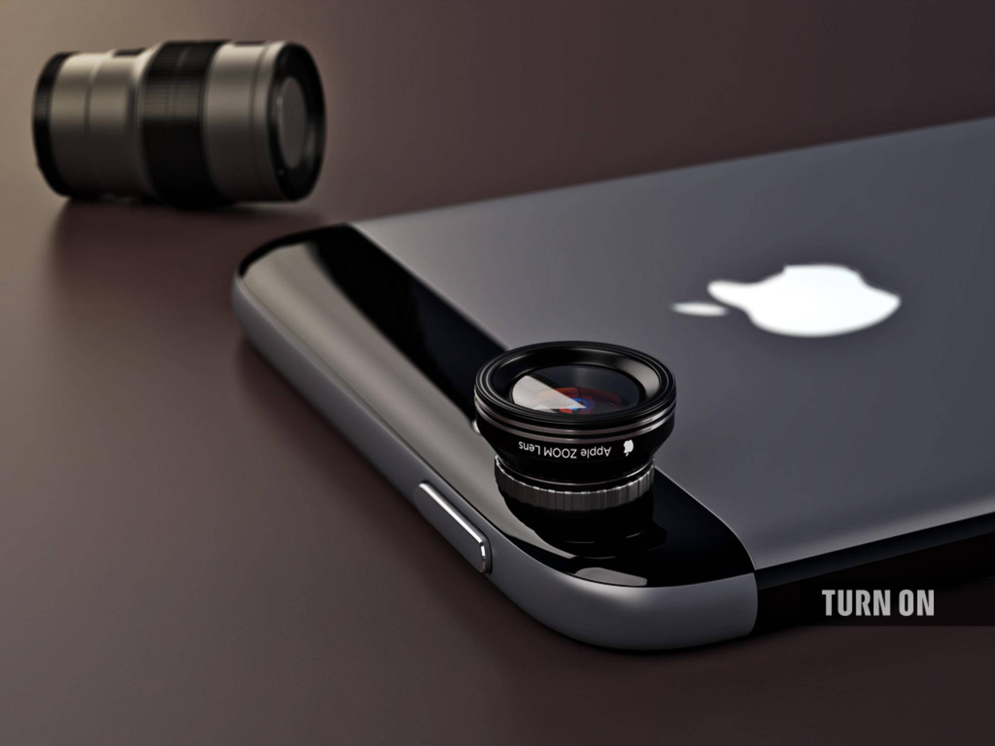 Thus, the user could shift between different lenses.