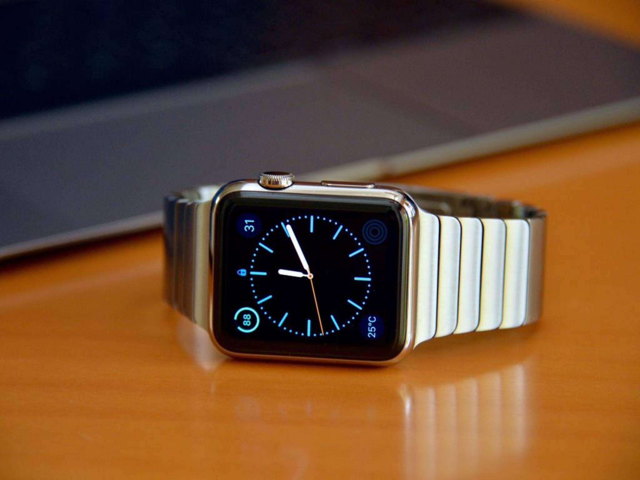 Der Nachfolger der Apple Watch könnte einen größeren Akku haben.