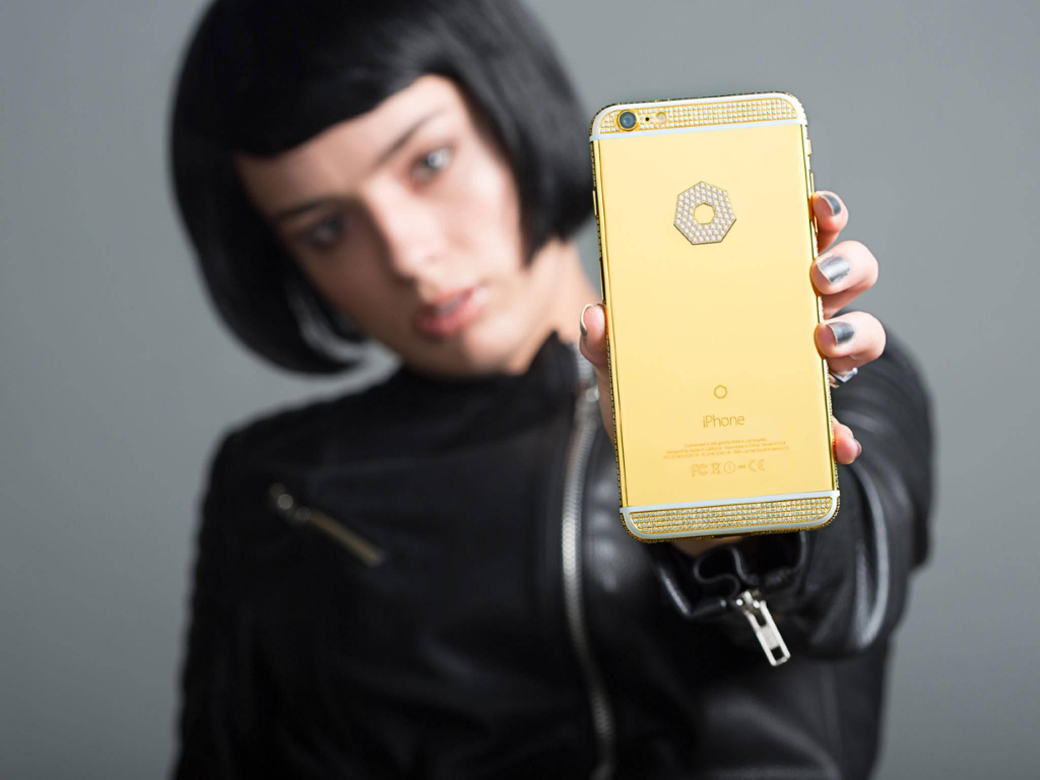 Kein Schnäppchen: Das iPhone 6s der Modding-Firma Brikk.
