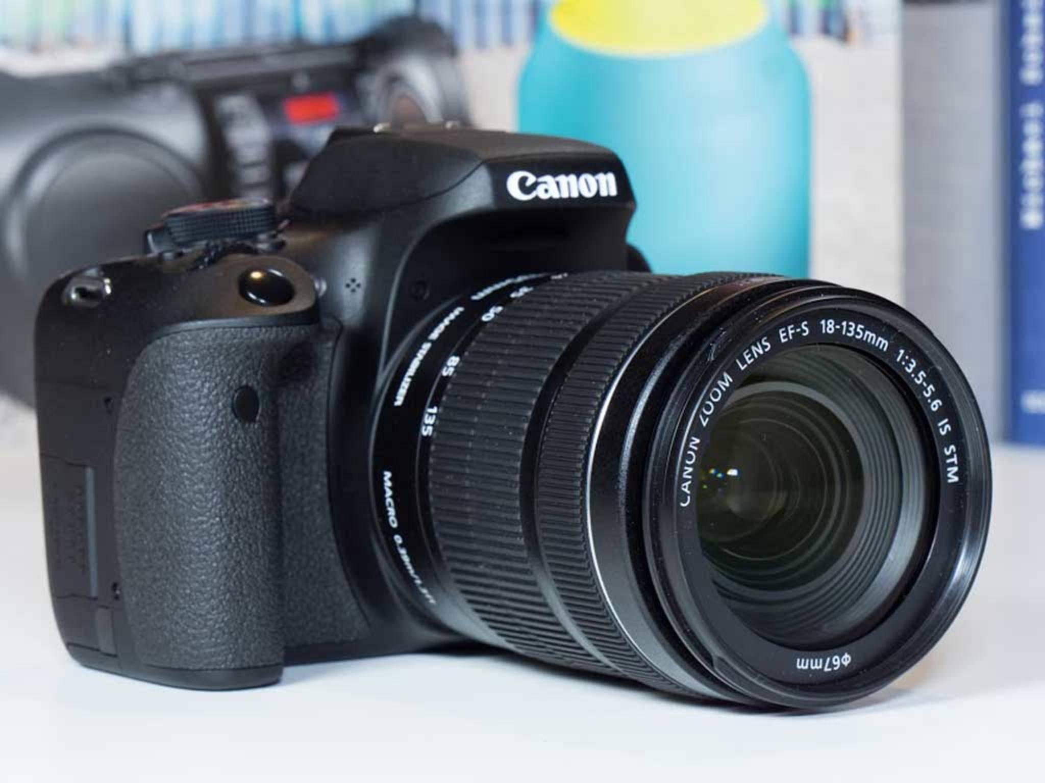 Die Canon EOS 750D ist eine kompakte, aber dennoch ...
