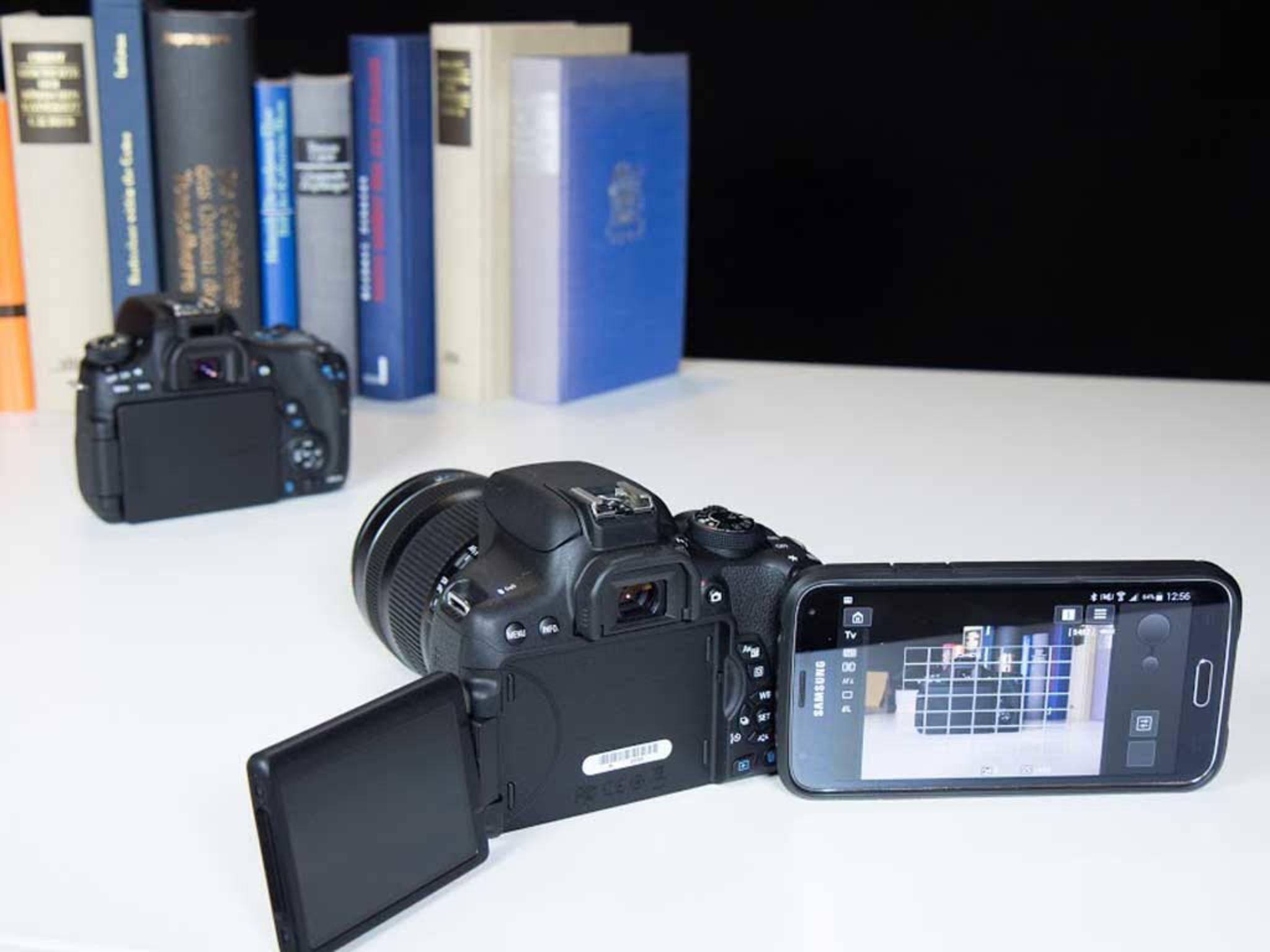 ... Smartphone ferngesteuert Fotos machen, wobei man ...