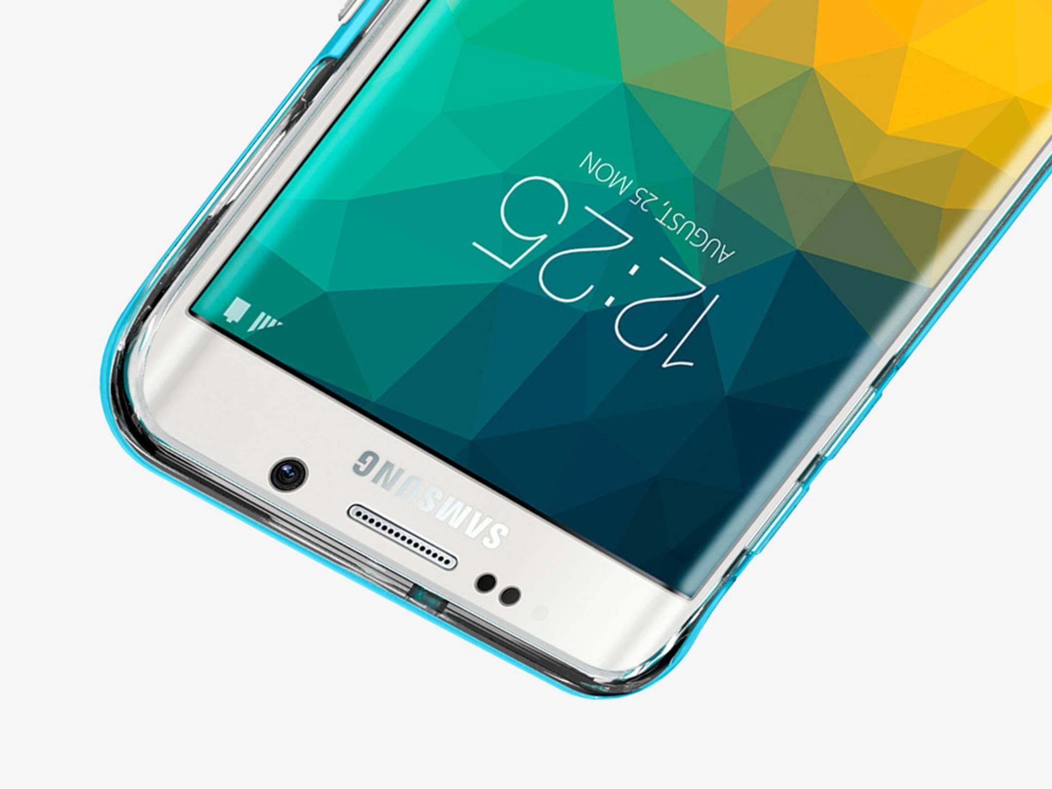 Das Galaxy S6 Edge+ wird eine Bildschirmdiagonale von 5,7 Zoll haben.