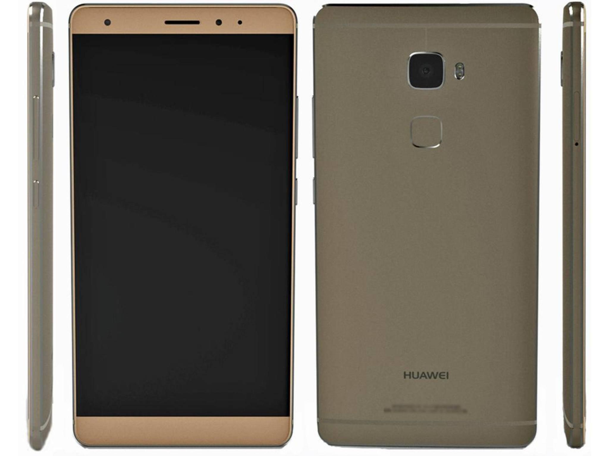 Sieht so das Huawei Mate 7 mini aus?