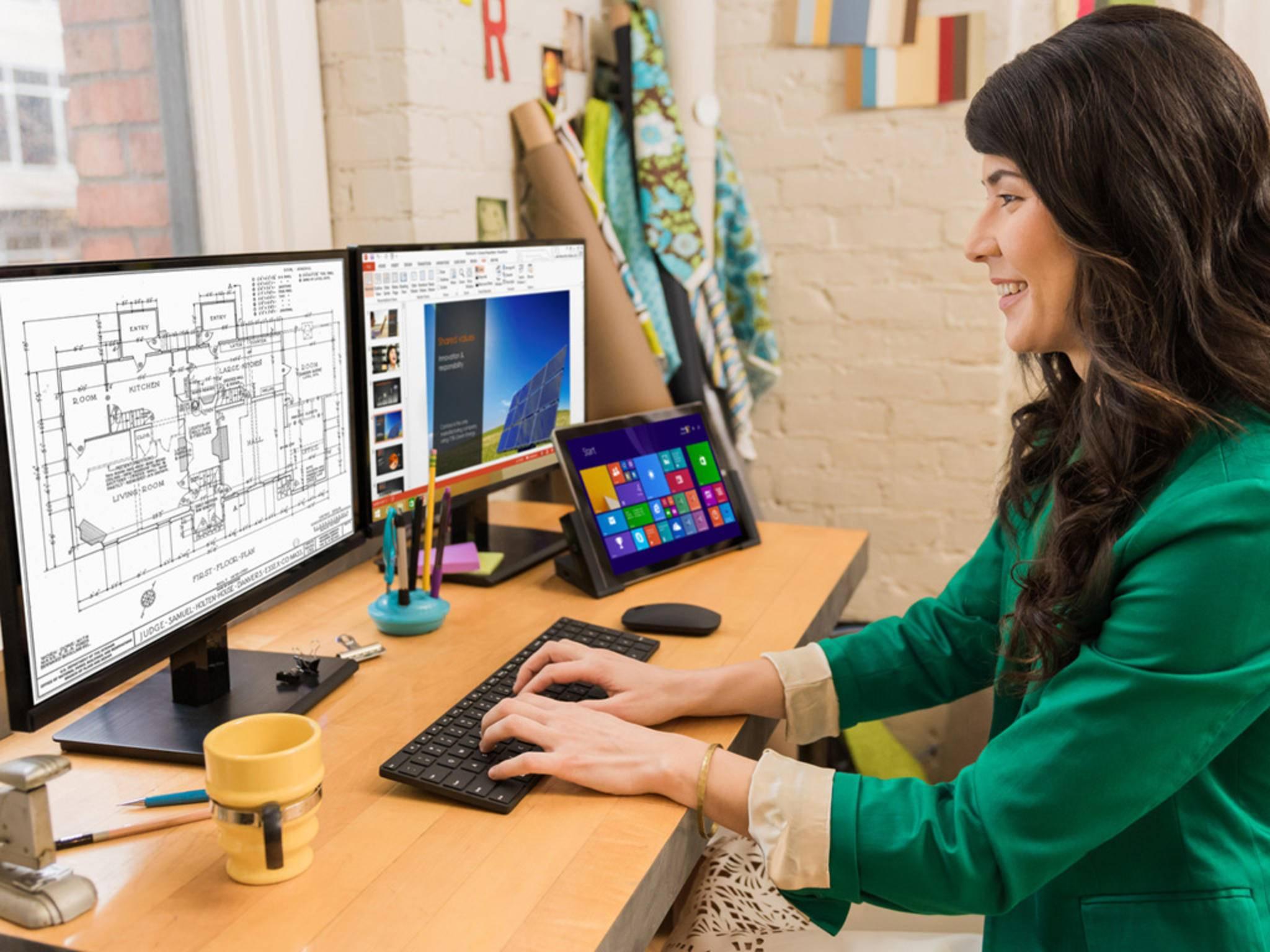 Nach dem Launch von Windows 10 veröffentlicht Microsoft passendes Zubehör.