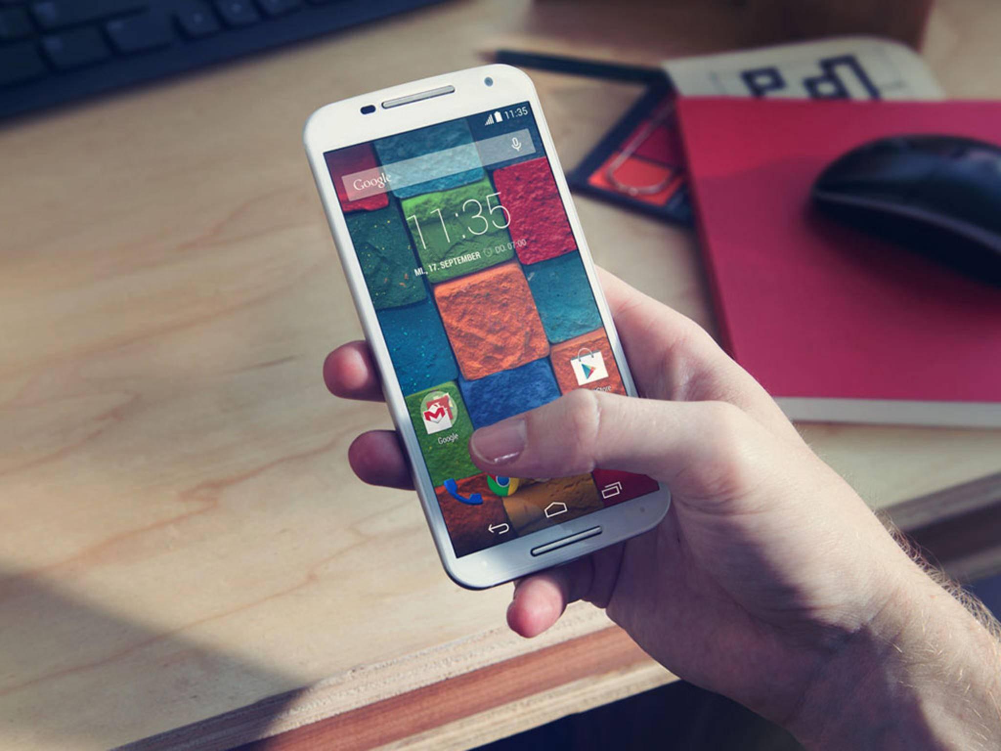 Das Motorola Bounce dürfte sich – anders als das Moto X – für den Outdoor-Einsatz eignen.