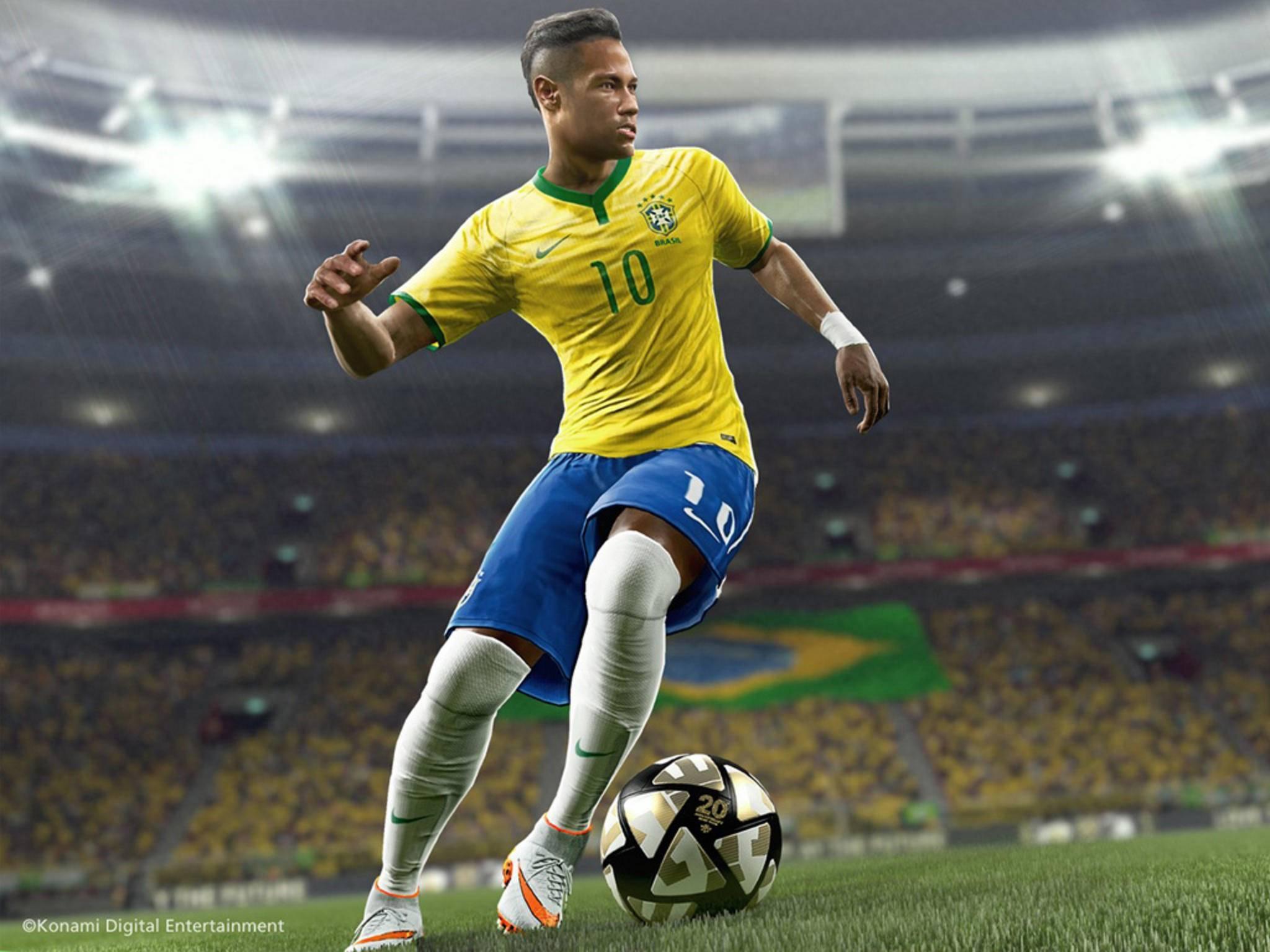 """""""PES 2016"""" tritt gegen """"FIFA 16"""" an. Doch wer überzeugt im direkten Vergleich?"""