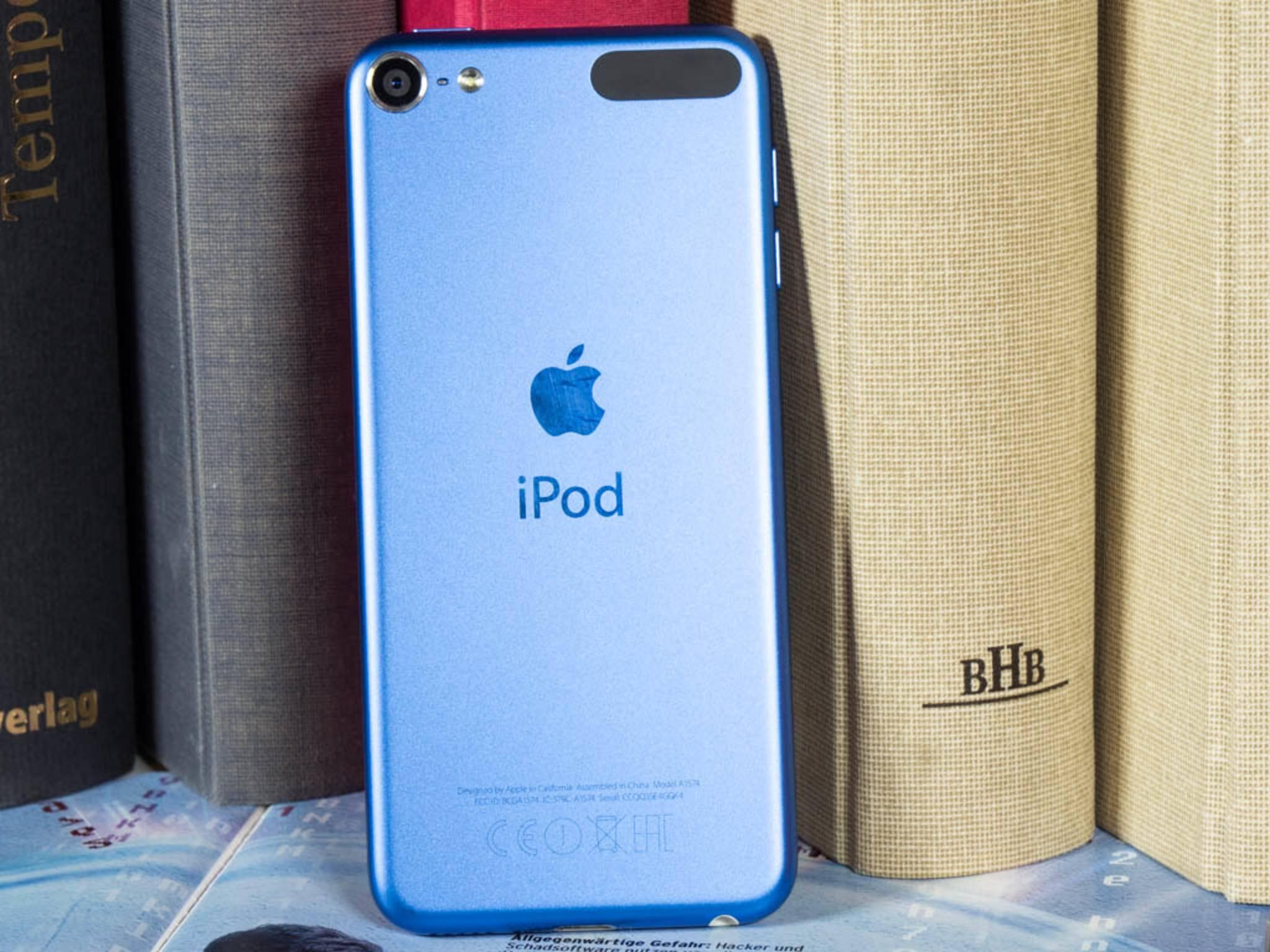 Der iPod touch wird so ähnlich wie das iPhone zurückgesetzt.