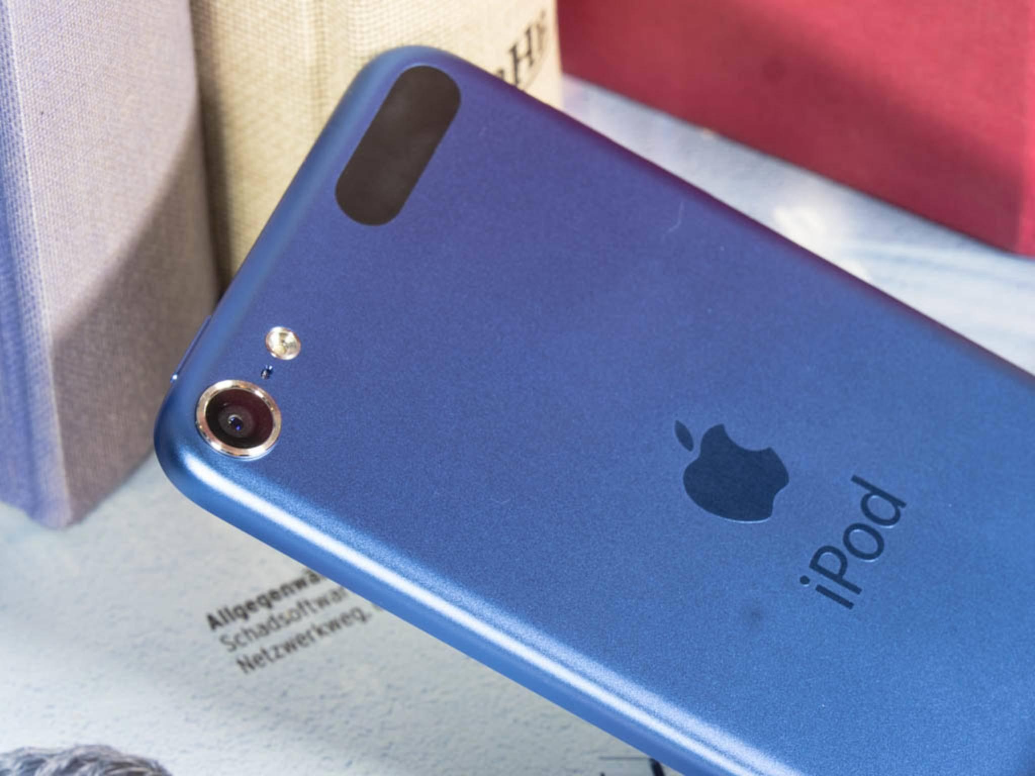 Beim iPod touch vertraut Apple bereits auf Blau – demnächst auch beim iPhone 7?