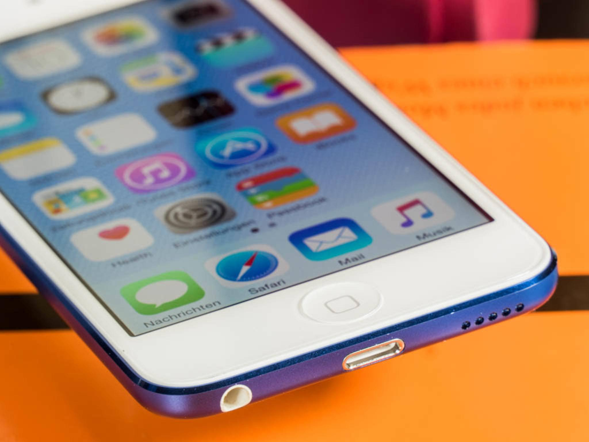 Das Display des iPod touch 6G ist immer noch 4 Zoll groß.
