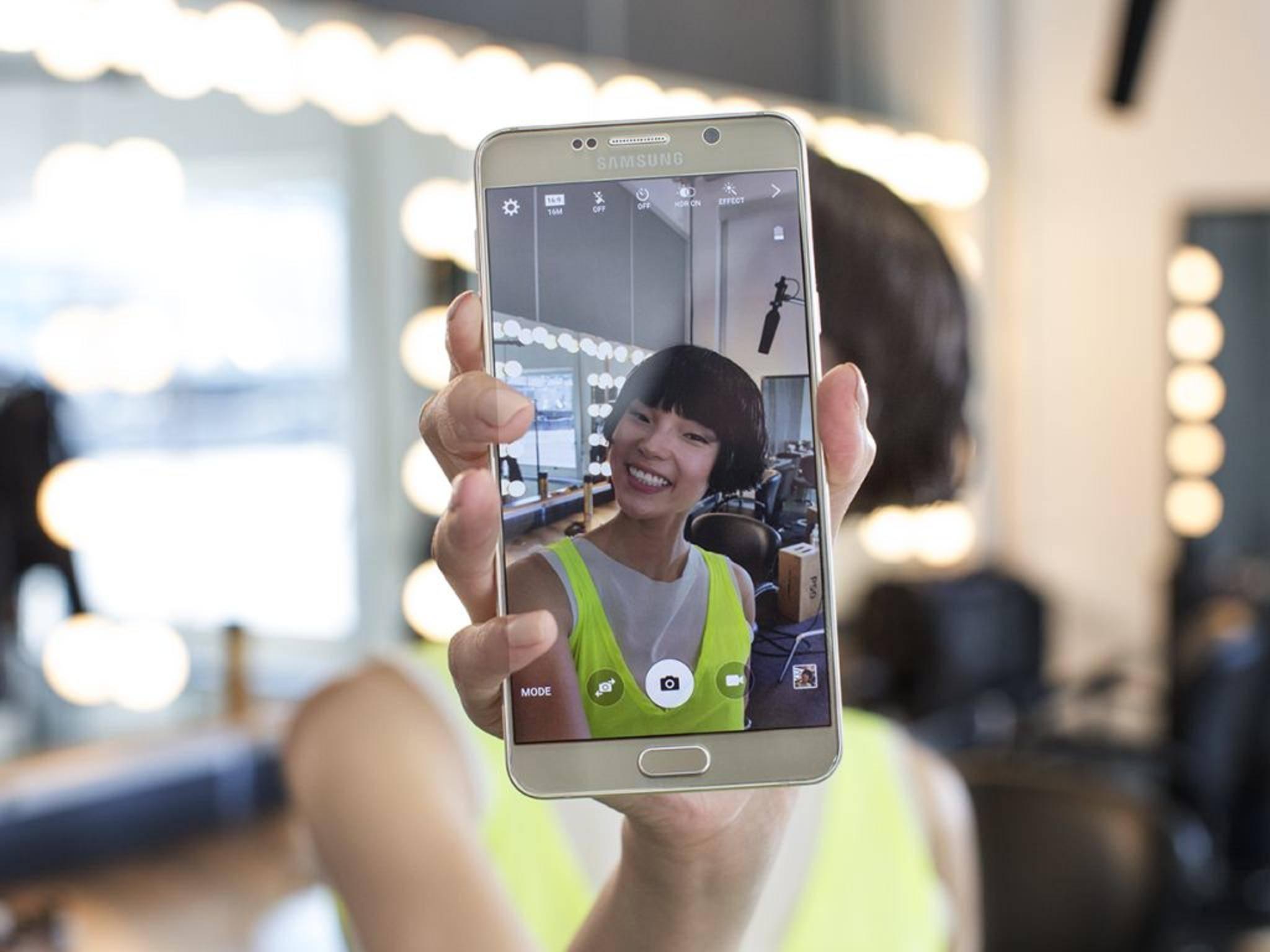 Der Galaxy Note 5-Nachfolger soll seinen Besitzer an der Iris erkennen.