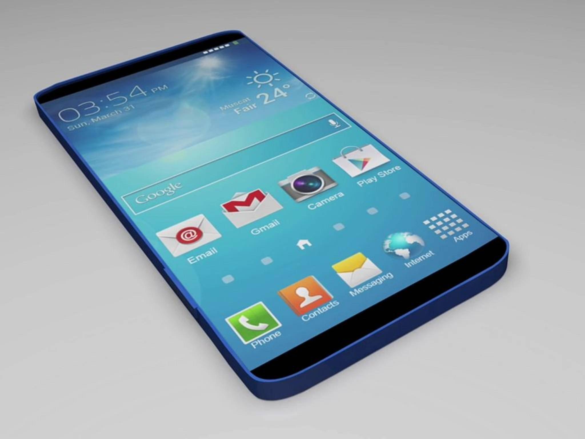 Wie das Galaxy S7 aussehen wird, ist weiterhin eine große Unbekannte.