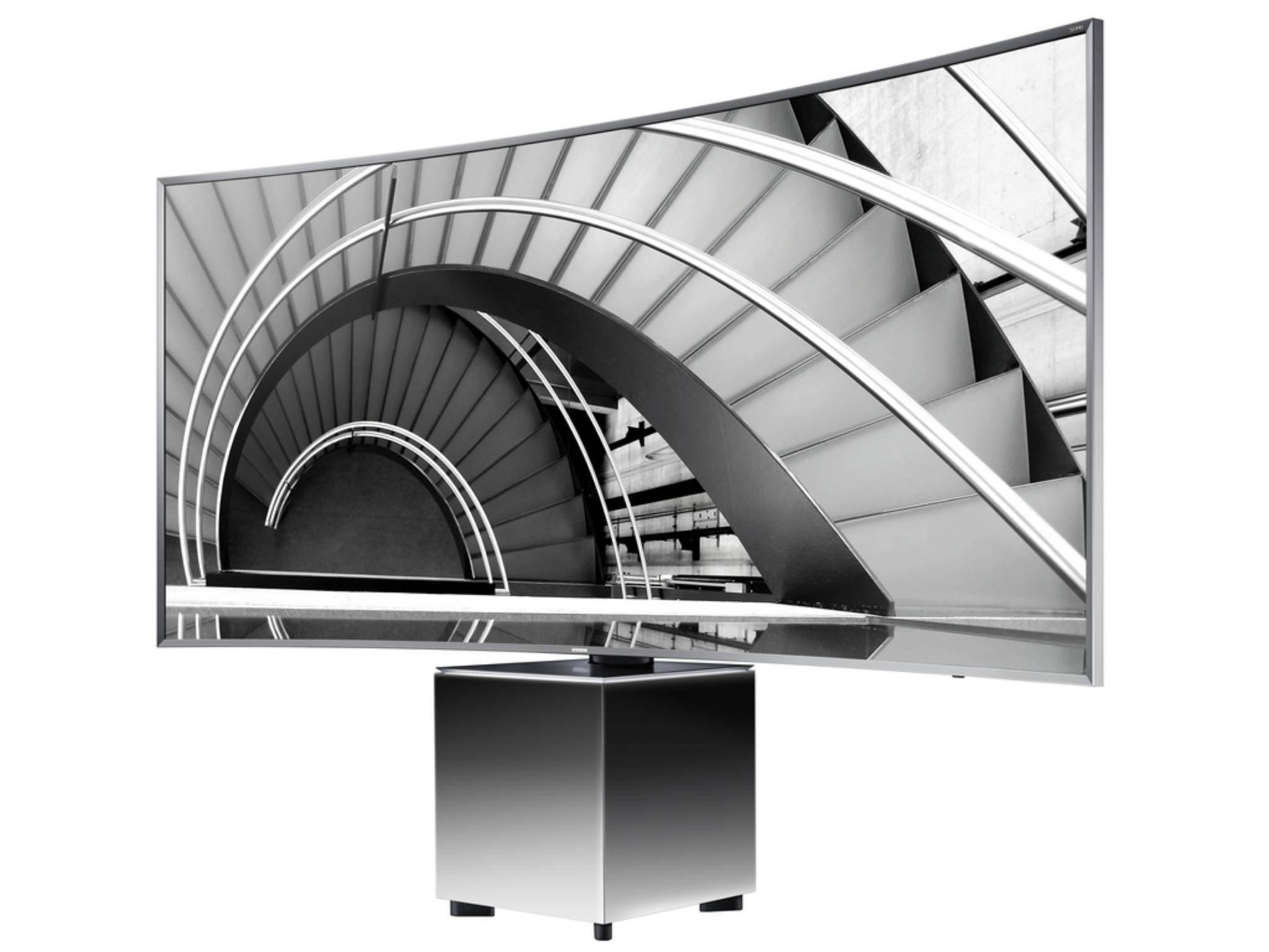 Ultra HD auf 82 Zoll: Der Samsung UE82S9W.
