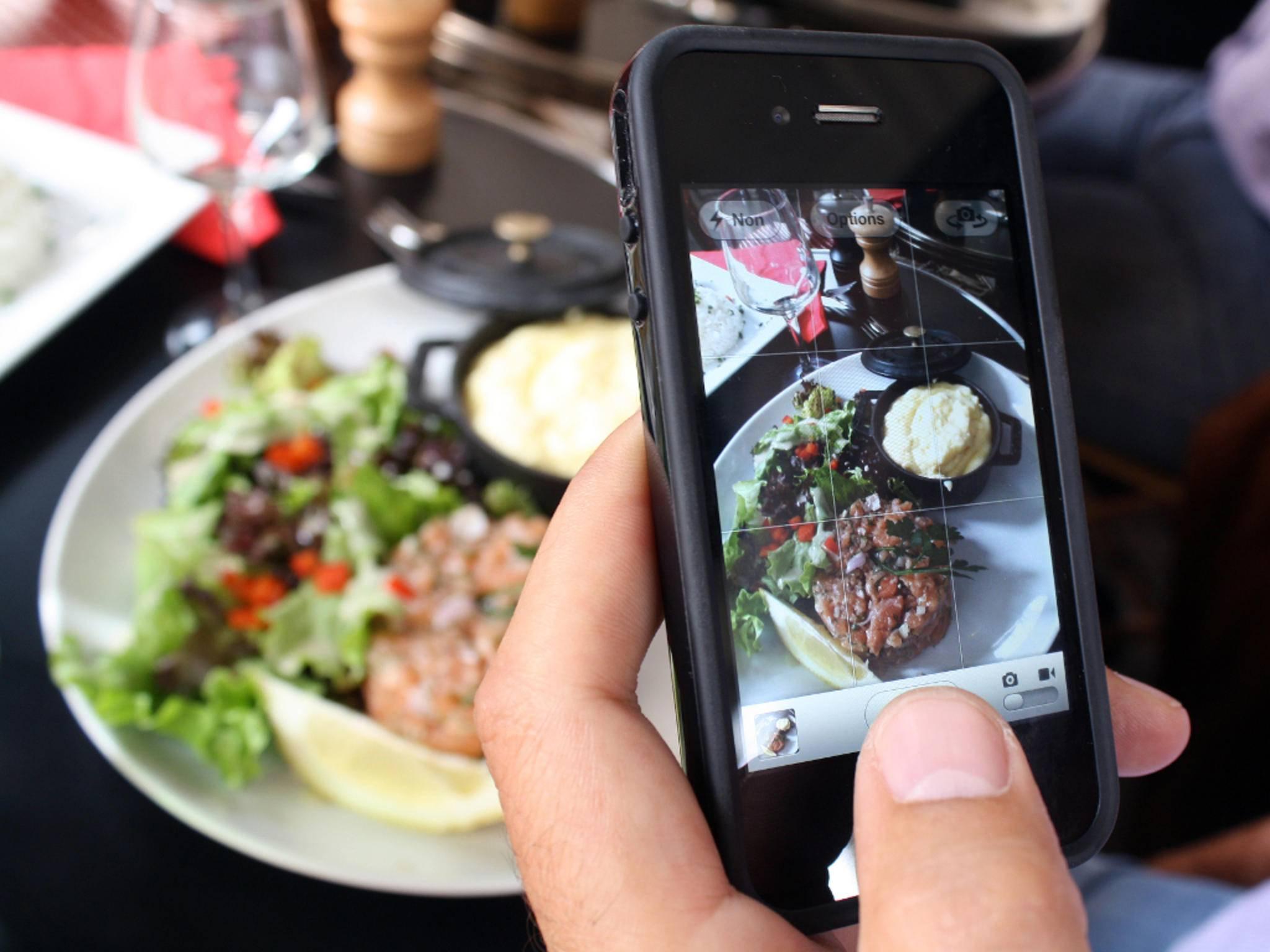 Food Porn mit dem Smartphone könnte schon bald Teil von Google Maps werden.