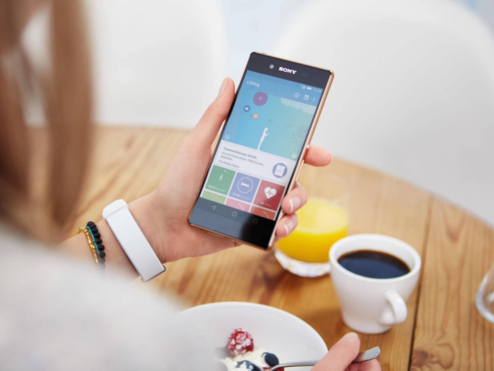 Die Android-App Lifelog ist ein digitales Tagebuch.