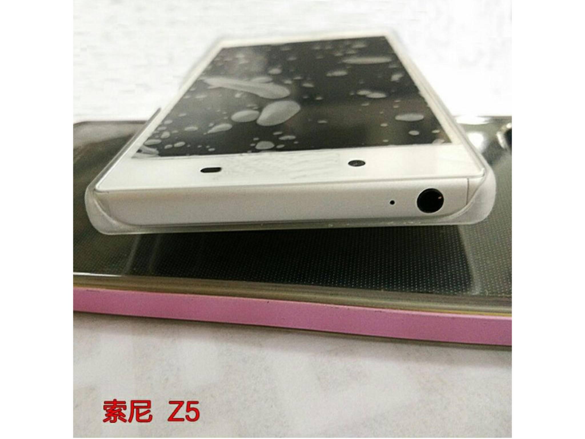 Leak-Bilder des Sony Xperia Z5.
