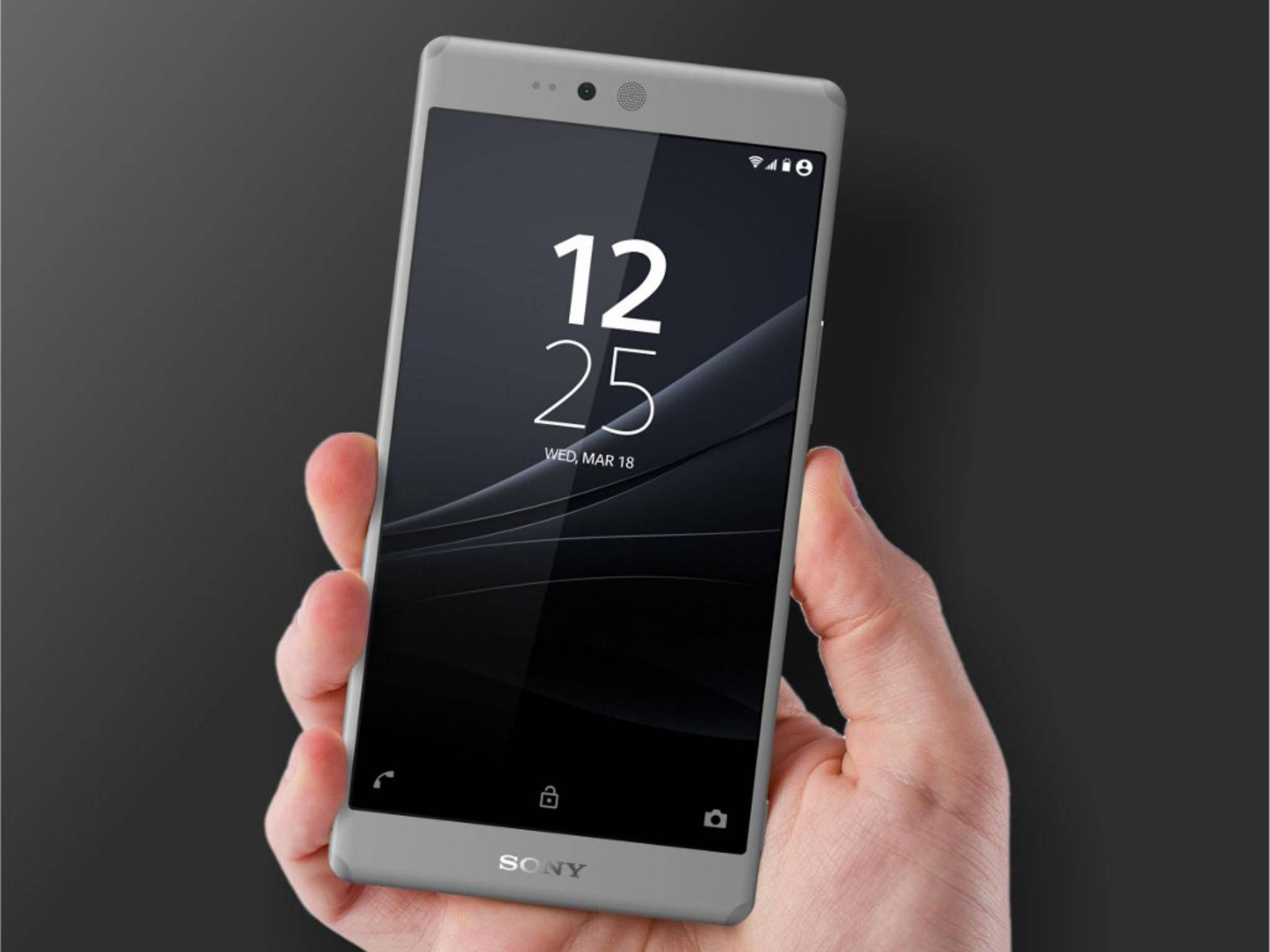 Konzept zeigt Sony Xperia Z5 mit Solar-Akku