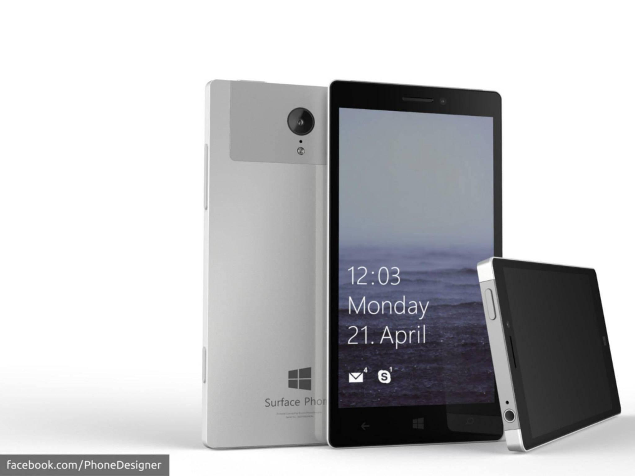 Ein Konzept zeigt, wie das neue Surface Phone aussehen könnte.
