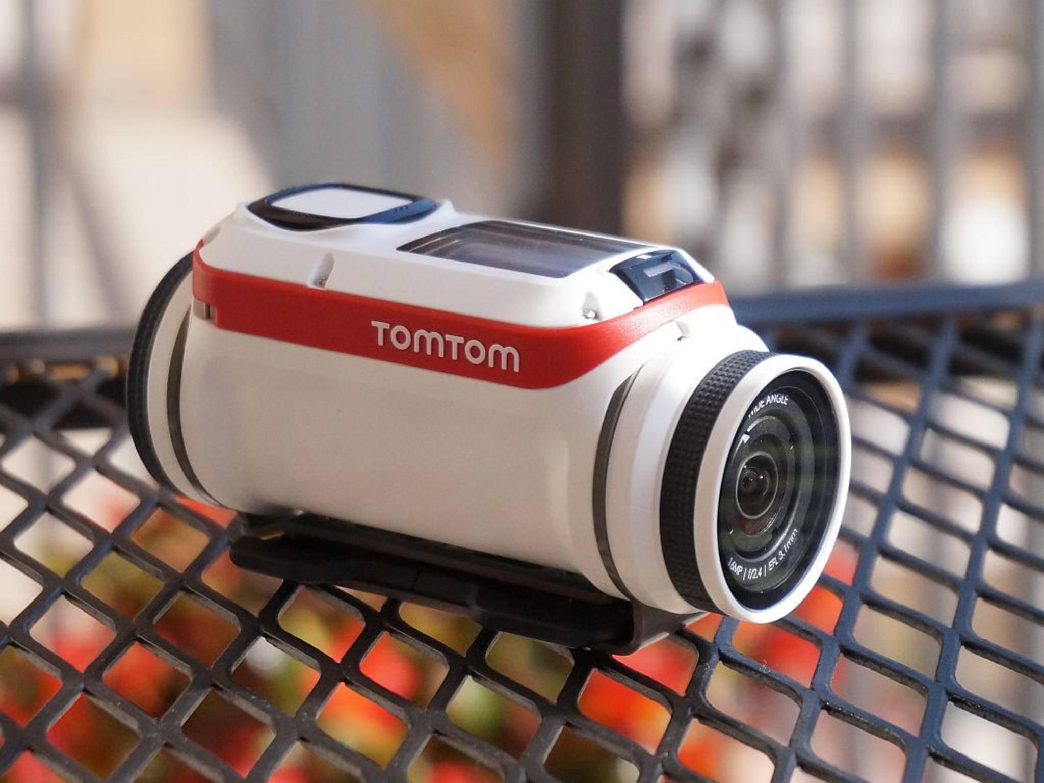 Rund statt eckig: die GoPro-Rivalin TomTom Bandit.