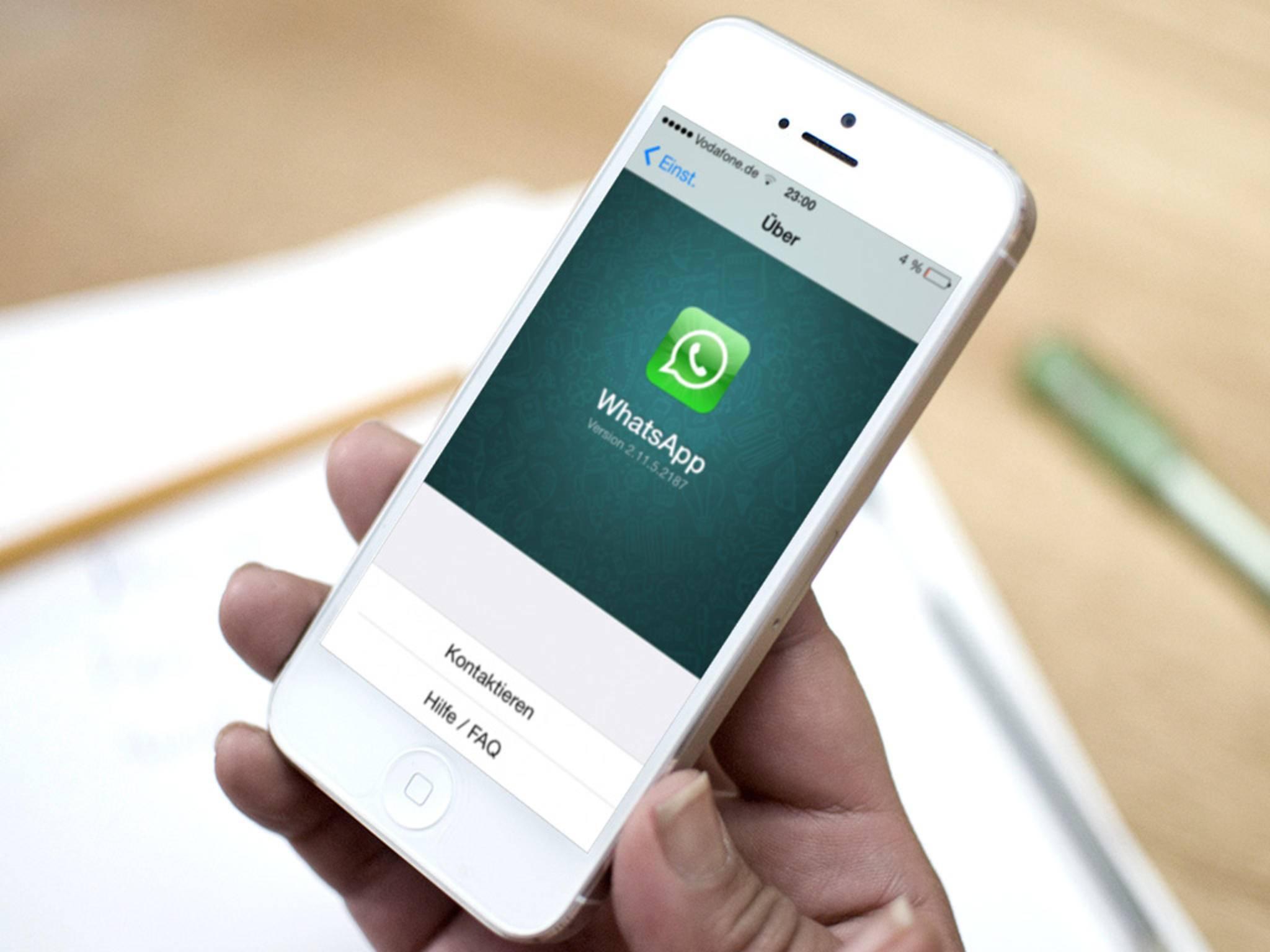 WhatsApp Web funktioniert endlich auch in Kombination mit dem iPhone.