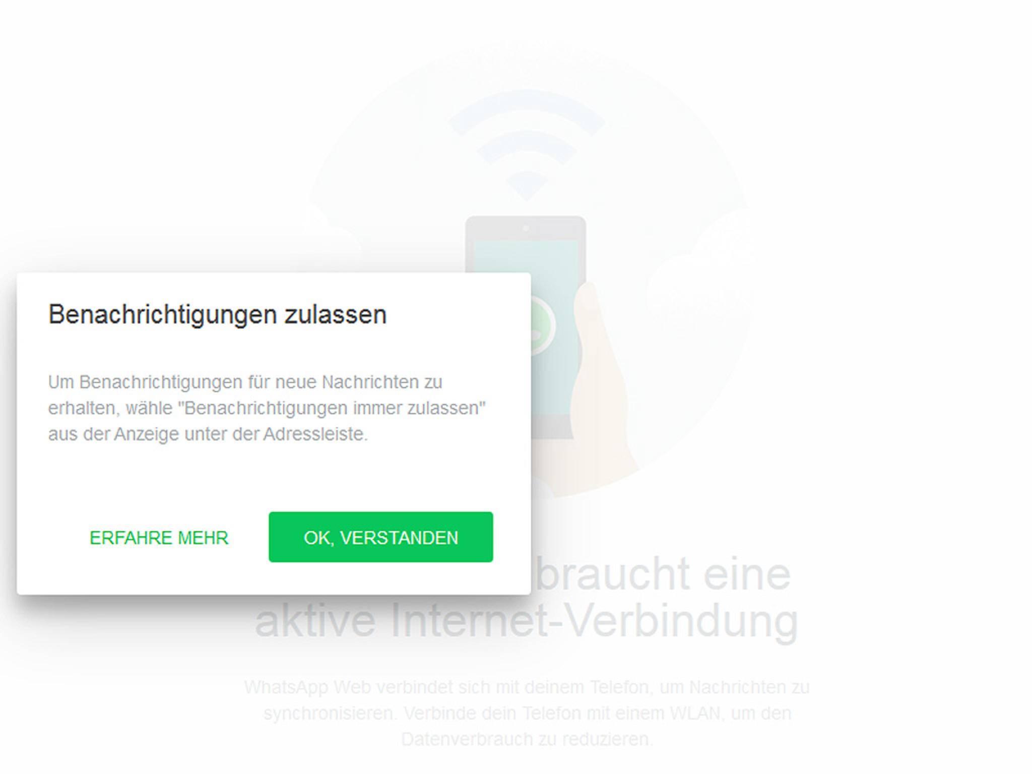 Whatsapp-Web-Notification